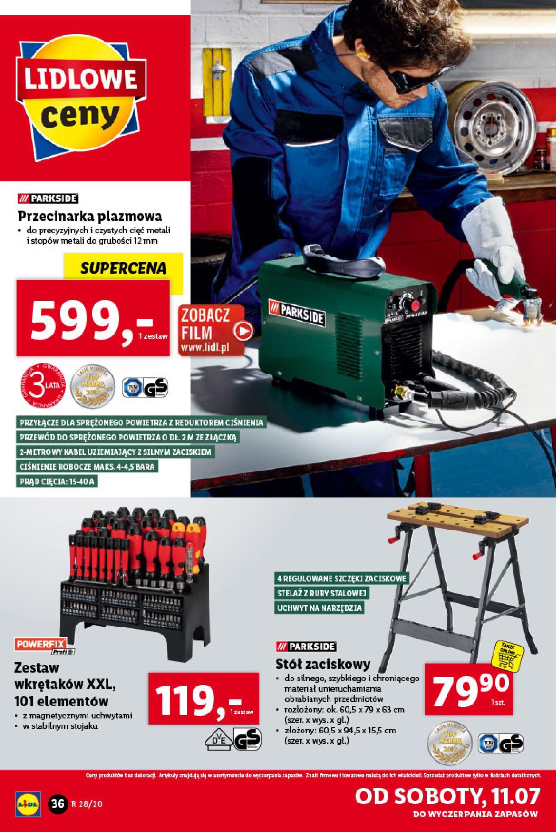 Gazetka Lidl - Katalog od poniedziałku 06.07-05.07.2020-11.07.2020-page-36