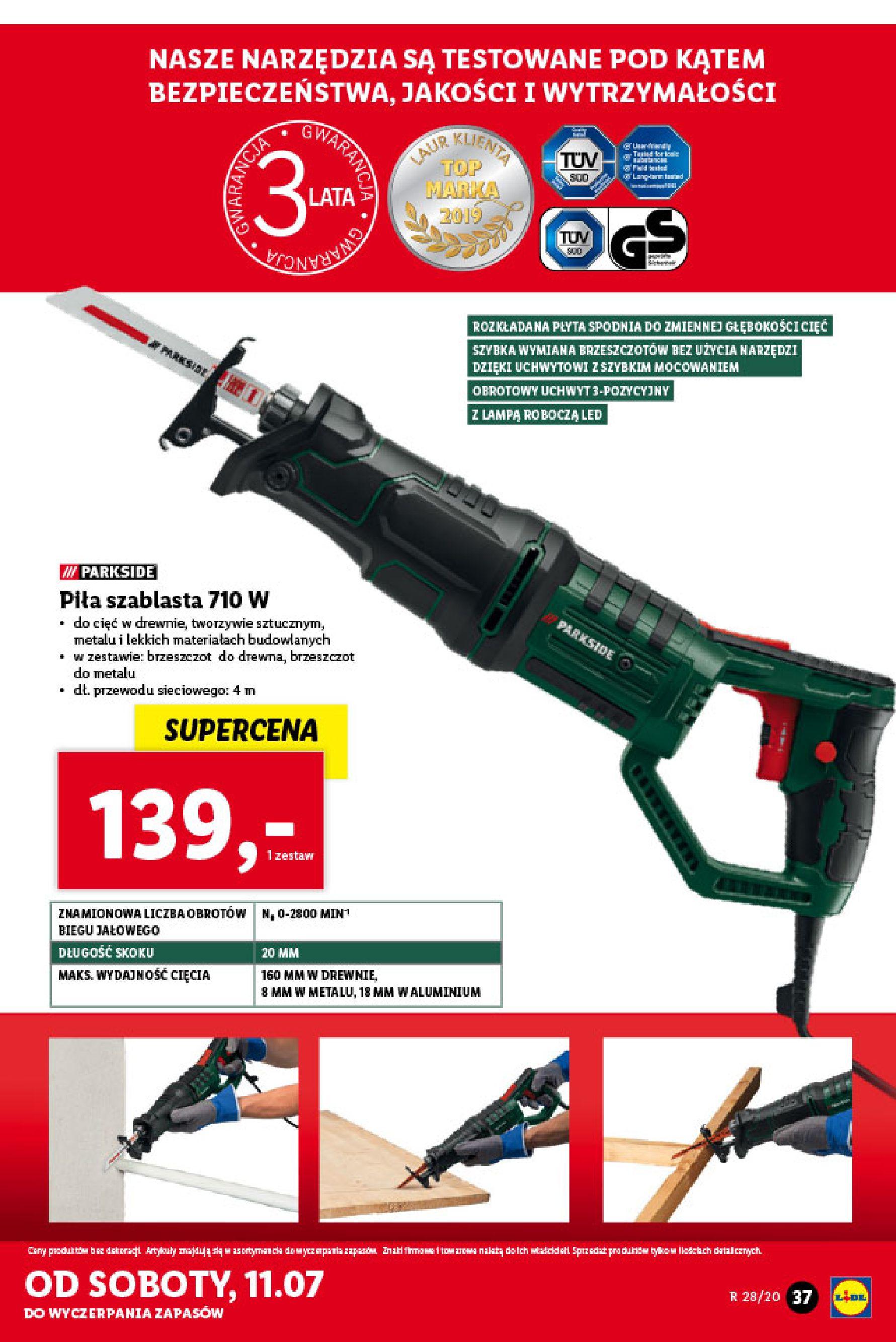 Gazetka Lidl - Katalog od poniedziałku 06.07-05.07.2020-11.07.2020-page-37
