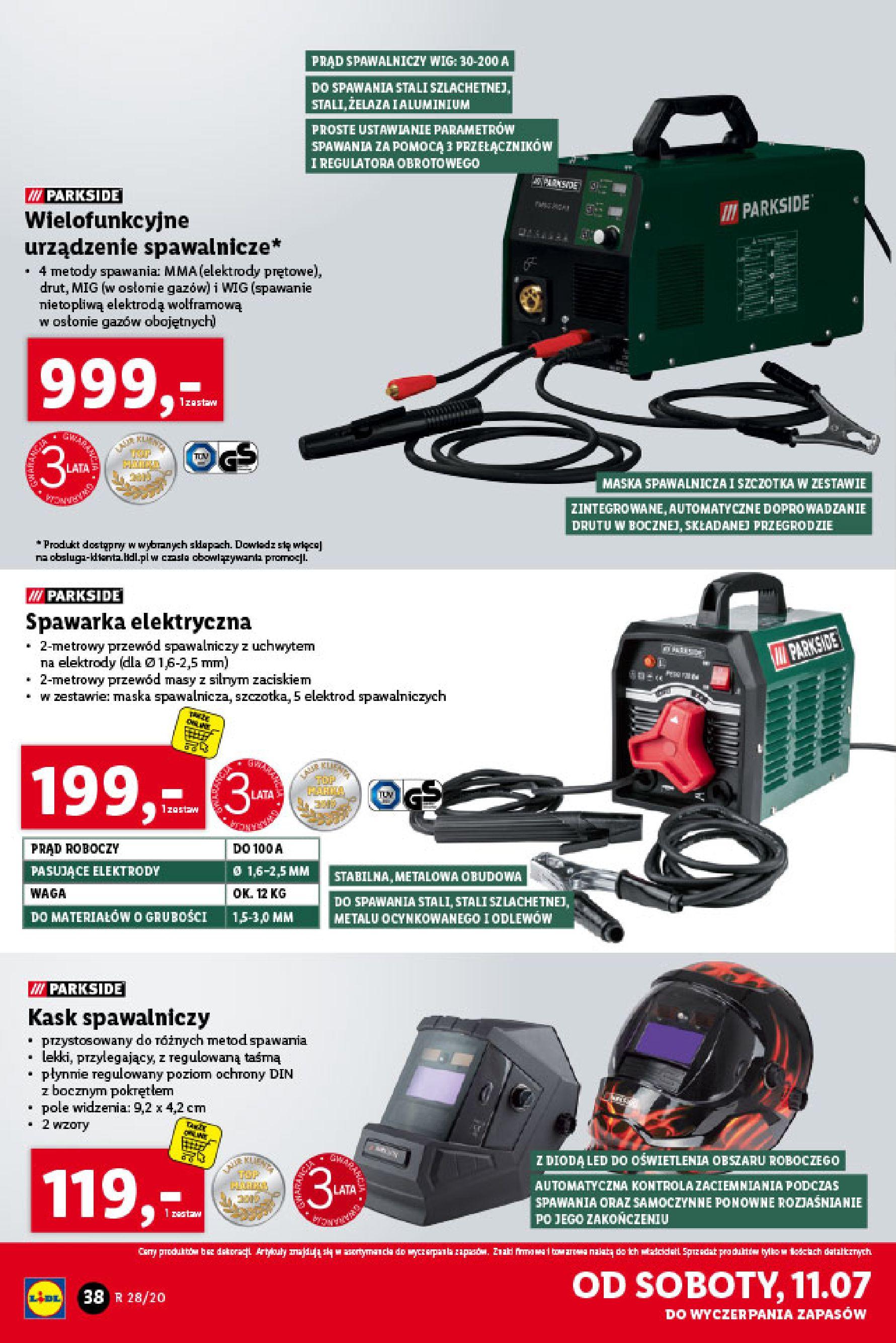 Gazetka Lidl - Katalog od poniedziałku 06.07-05.07.2020-11.07.2020-page-38