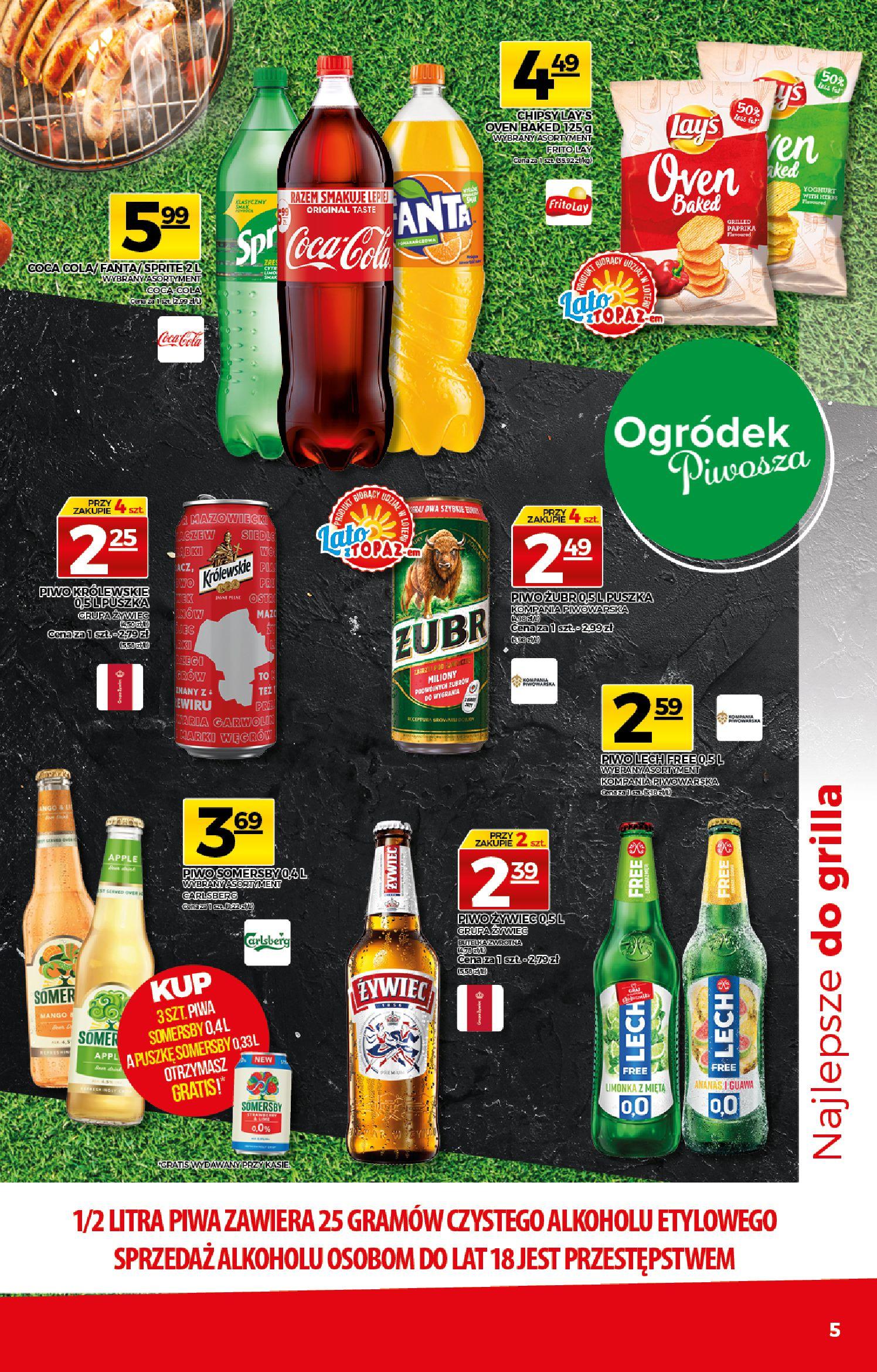 Gazetka TOPAZ: Gazetka TOPAZ Express 2021-07-22 page-5