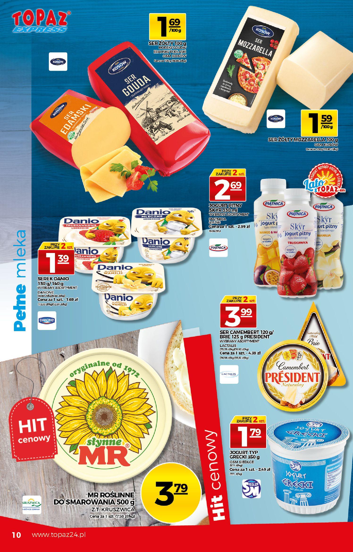 Gazetka TOPAZ: Gazetka TOPAZ Express 2021-07-22 page-10