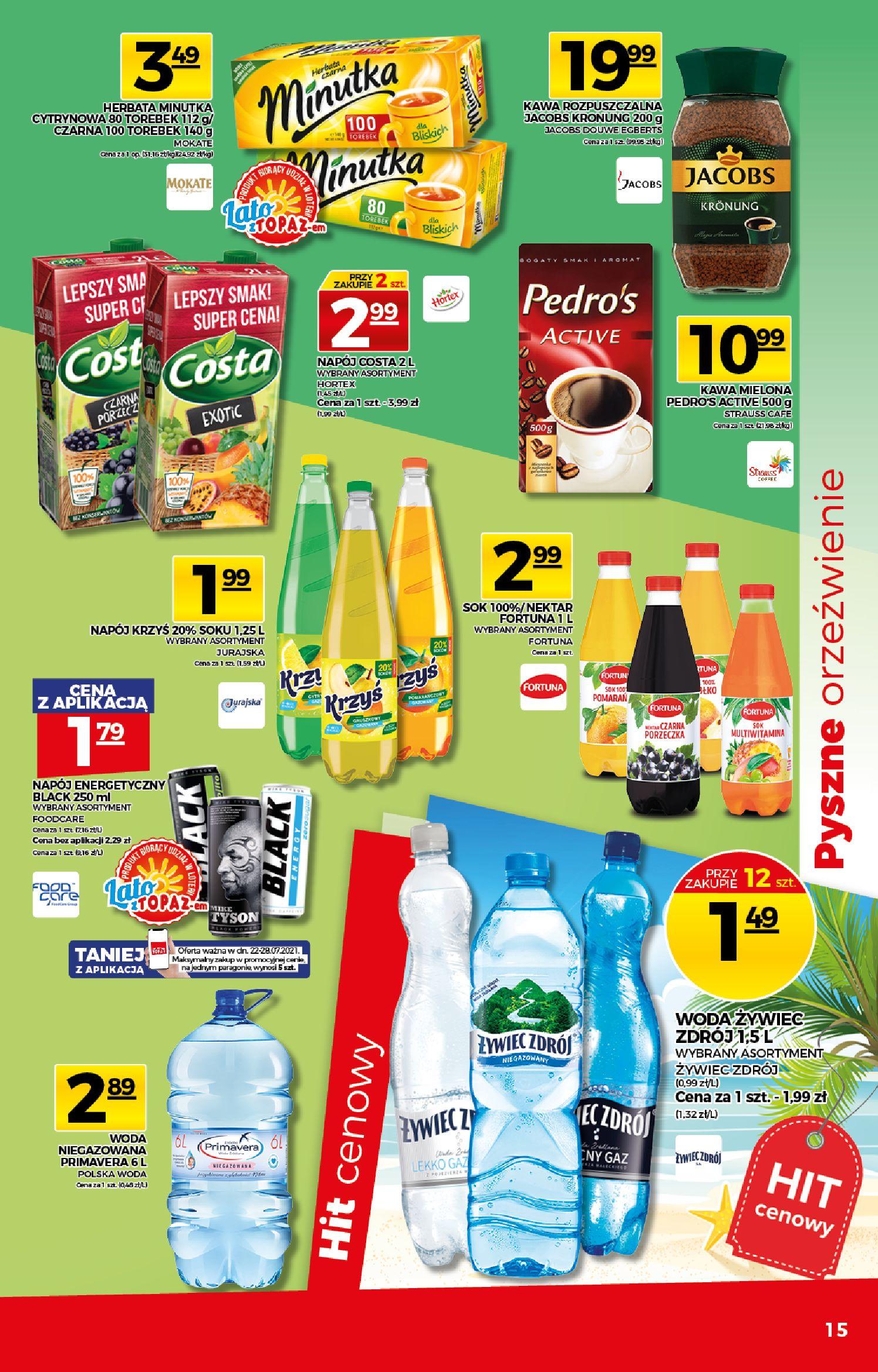 Gazetka TOPAZ: Gazetka TOPAZ Express 2021-07-22 page-15