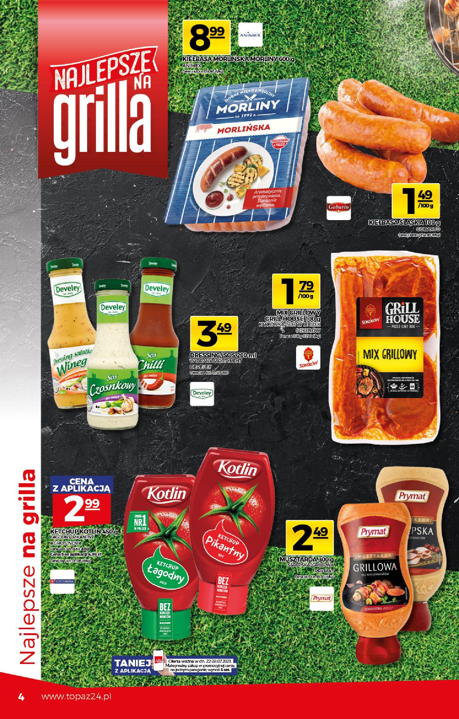 Gazetka TOPAZ: Gazetka TOPAZ Express 2021-07-22 page-4