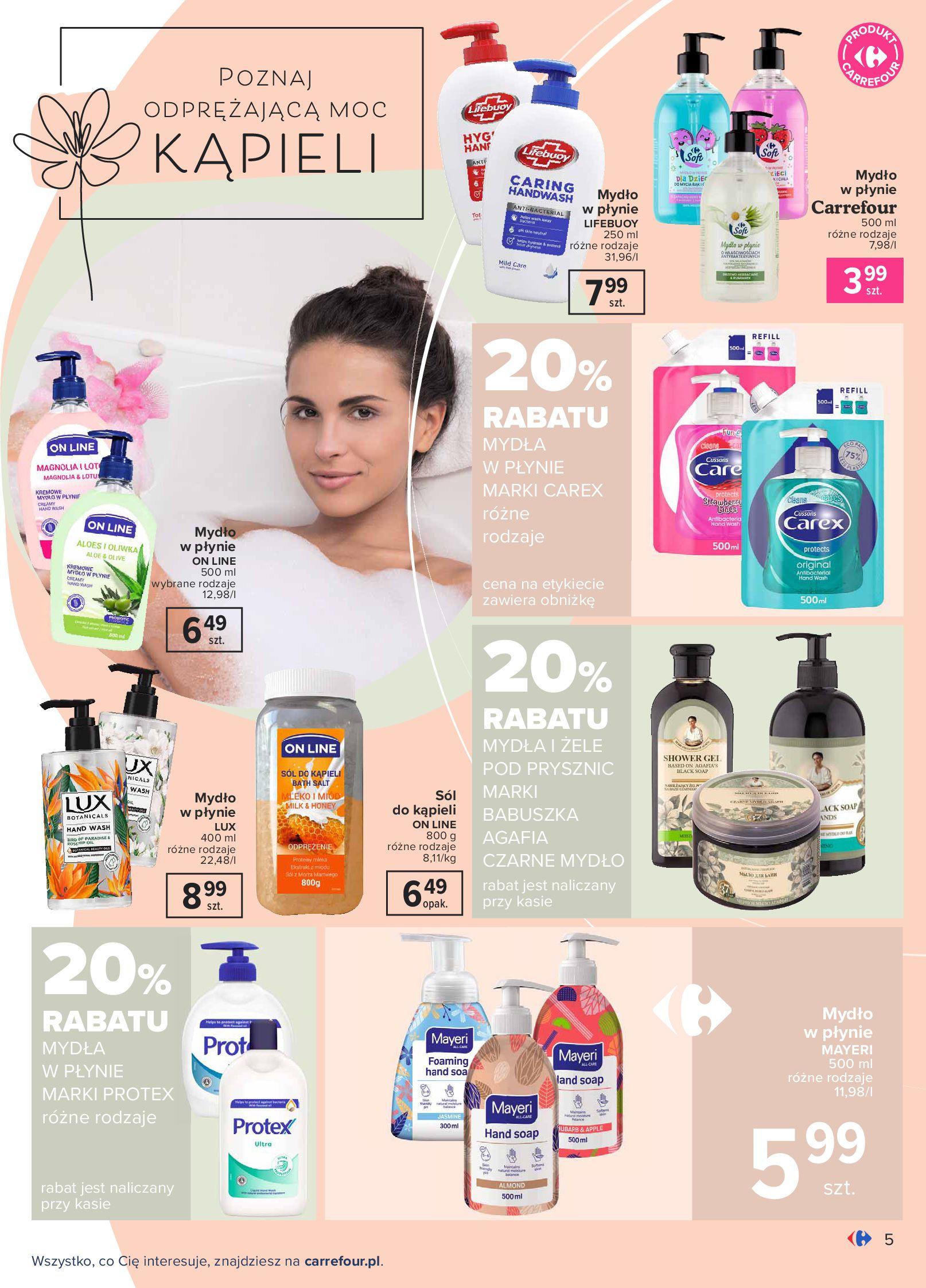 Gazetka Carrefour: Gazetka Carrefour Odkryj źródło piękna 2021-09-14 page-5