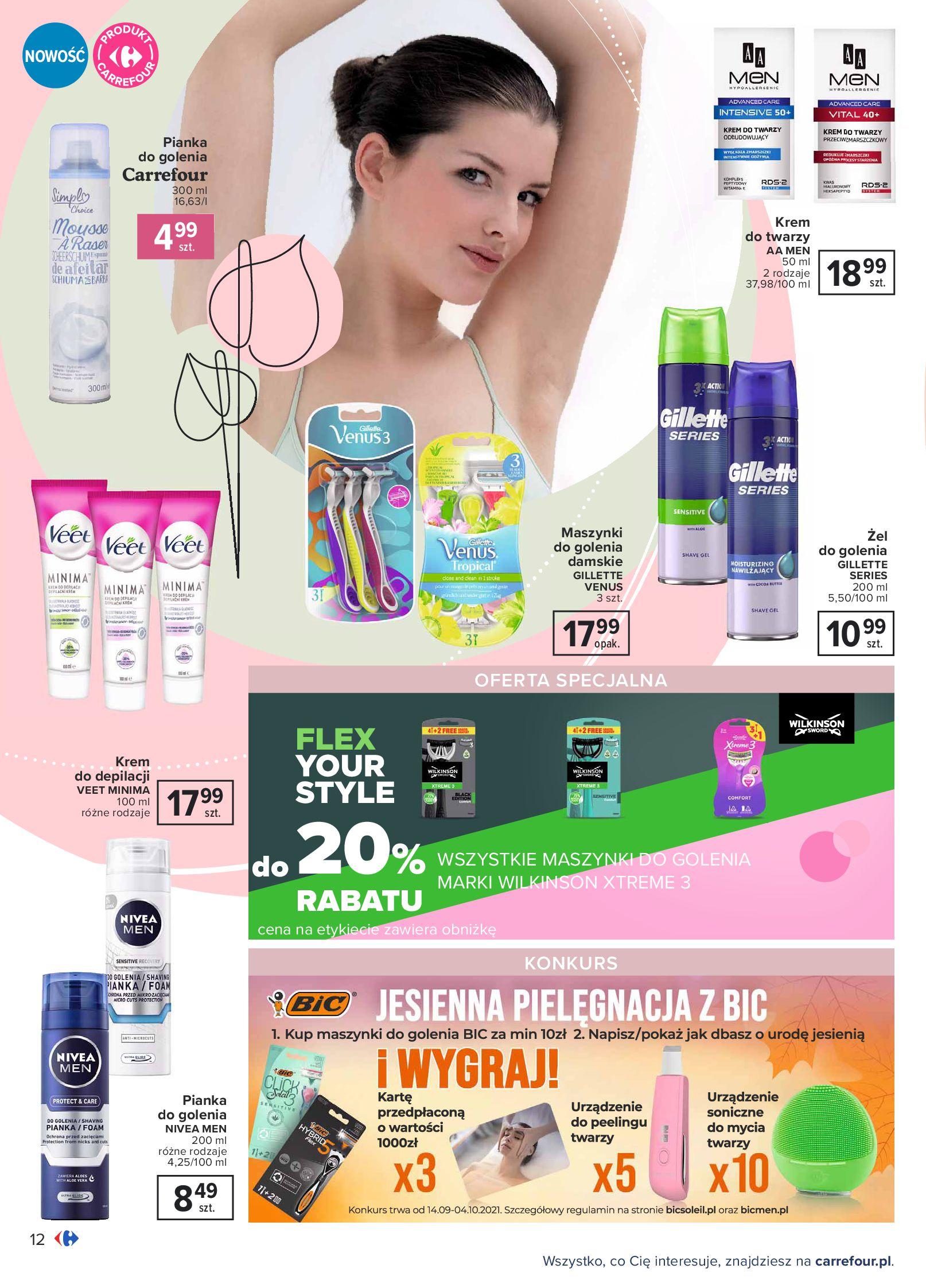 Gazetka Carrefour: Gazetka Carrefour Odkryj źródło piękna 2021-09-14 page-12