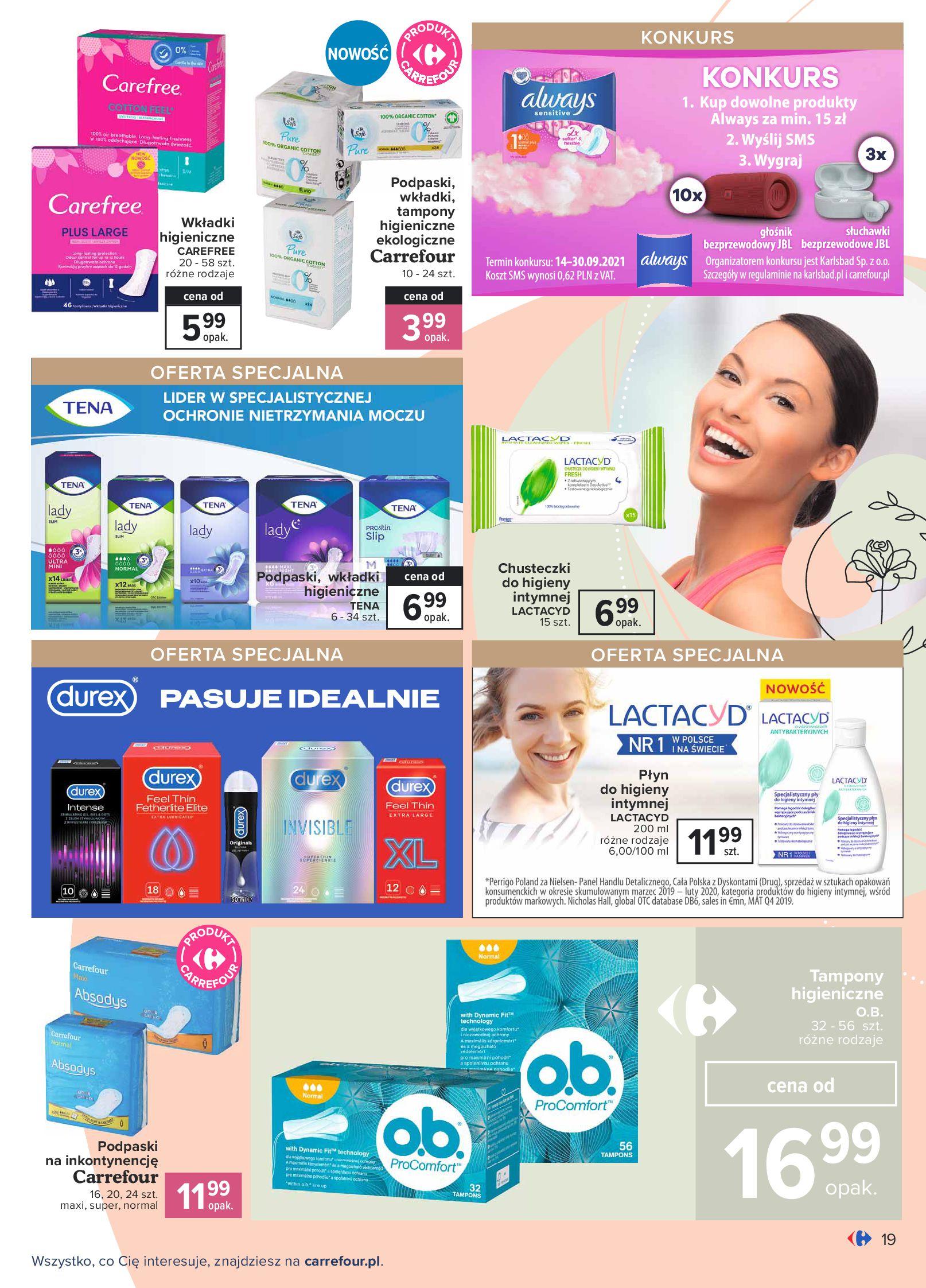 Gazetka Carrefour: Gazetka Carrefour Odkryj źródło piękna 2021-09-14 page-19