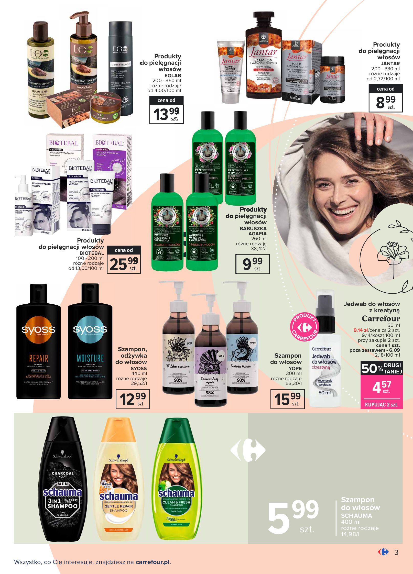 Gazetka Carrefour: Gazetka Carrefour Odkryj źródło piękna 2021-09-14 page-3