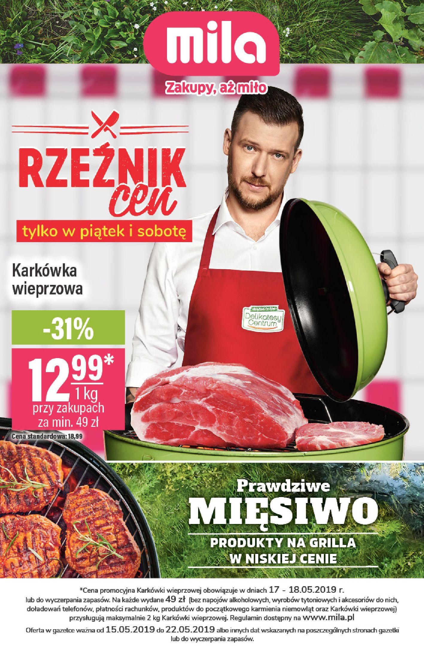 Gazetka Mila - Gazetka 20-14.05.2019-22.05.2019-page-
