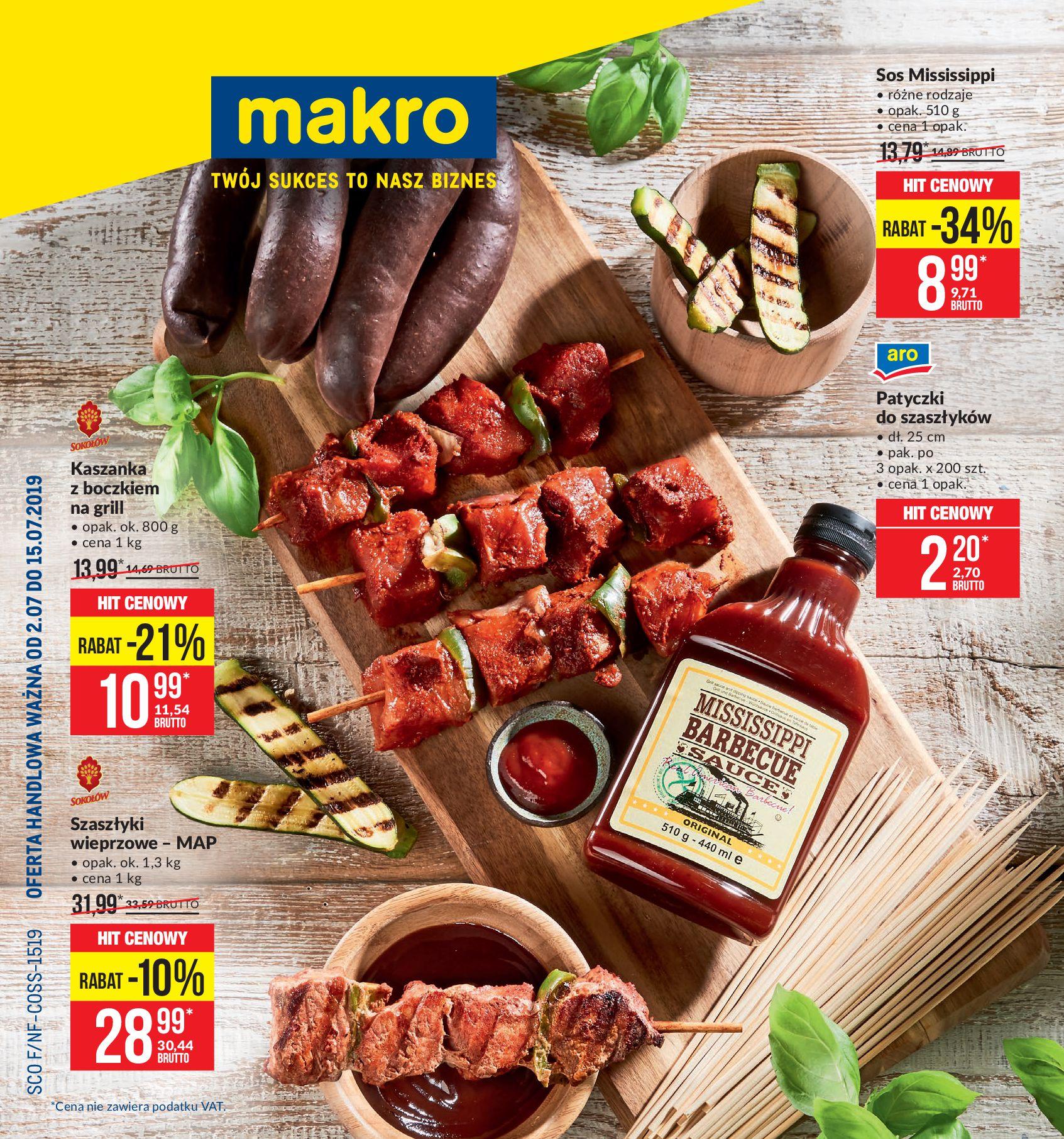Gazetka Makro - Artykuły spożywcze dla hal Kalisz, Zielona Góra-01.07.2019-15.07.2019-page-