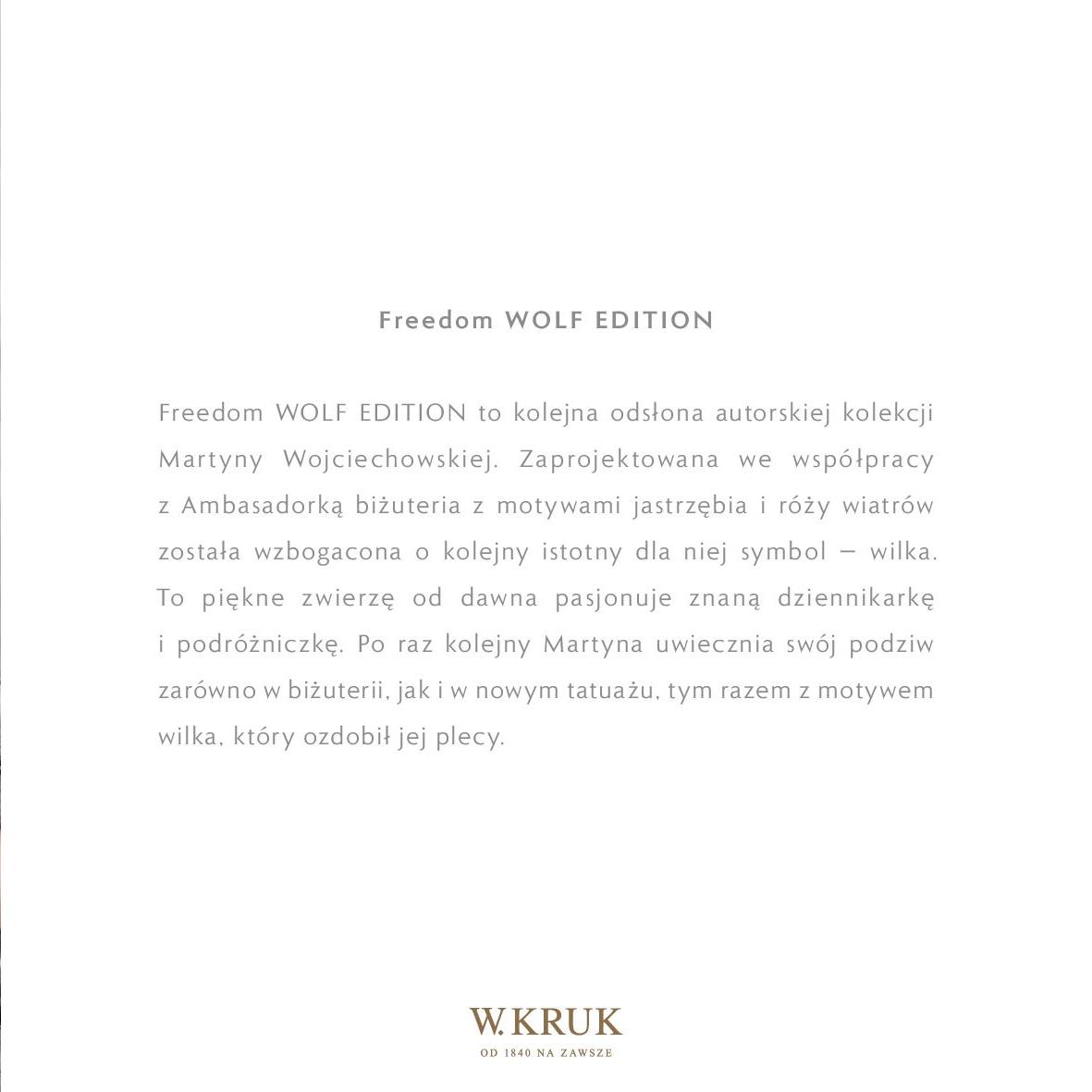 Gazetka W. KRUK: Katalog - Freedom Wolf 2021-02-17 page-5