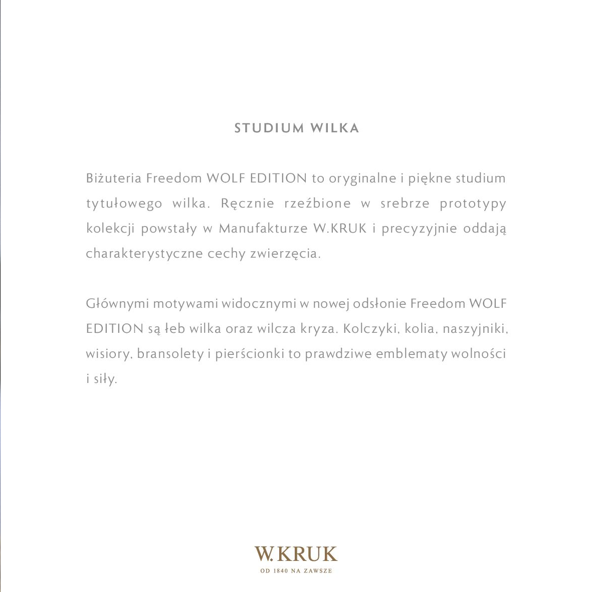 Gazetka W. KRUK: Katalog - Freedom Wolf 2021-02-17 page-31