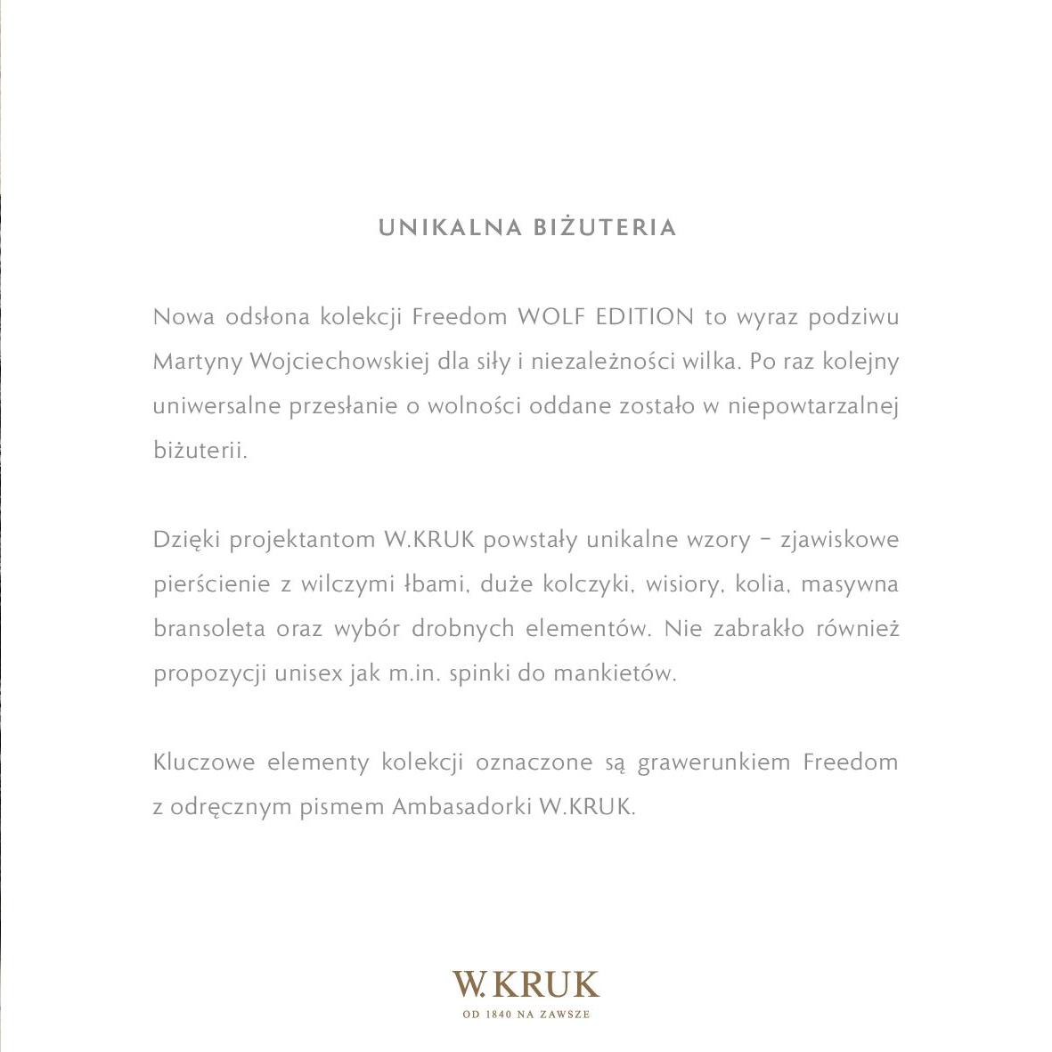 Gazetka W. KRUK: Katalog - Freedom Wolf 2021-02-17 page-39