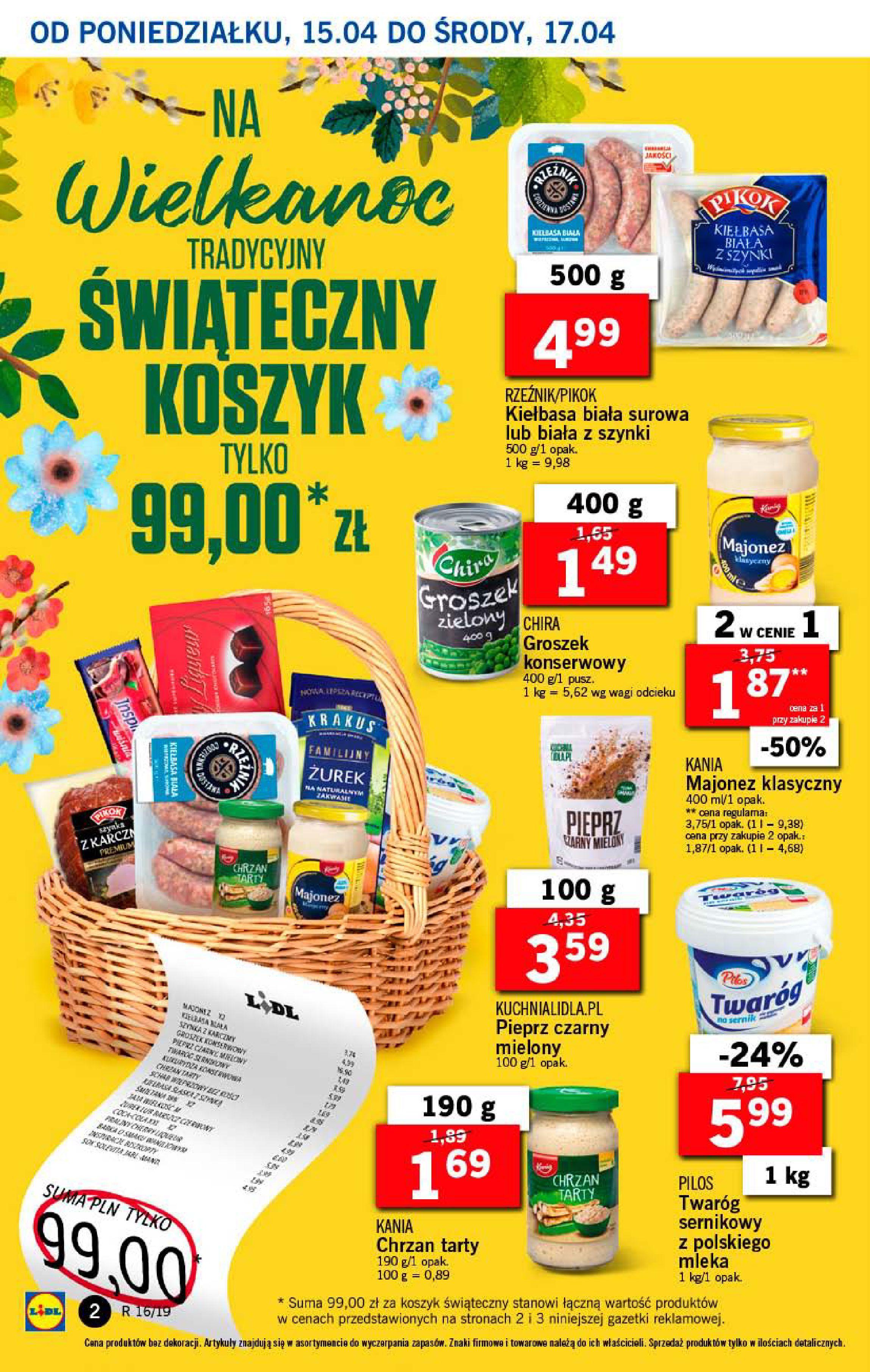 Gazetka Lidl - Od poniedziałku-14.04.2019-17.04.2019-page-