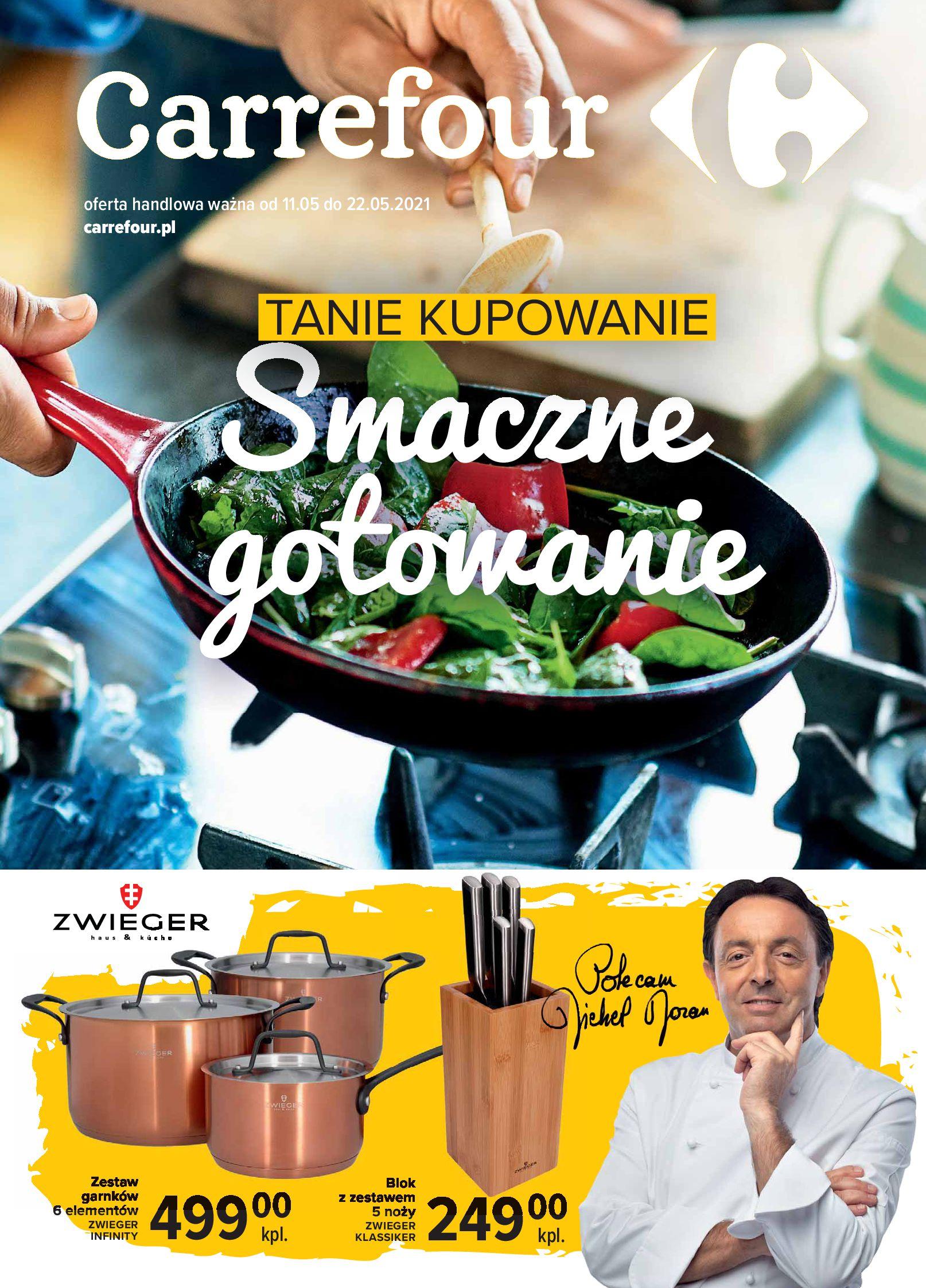 Carrefour:  Gazetka Carrefour - Smaczne gotowanie 10.05.2021