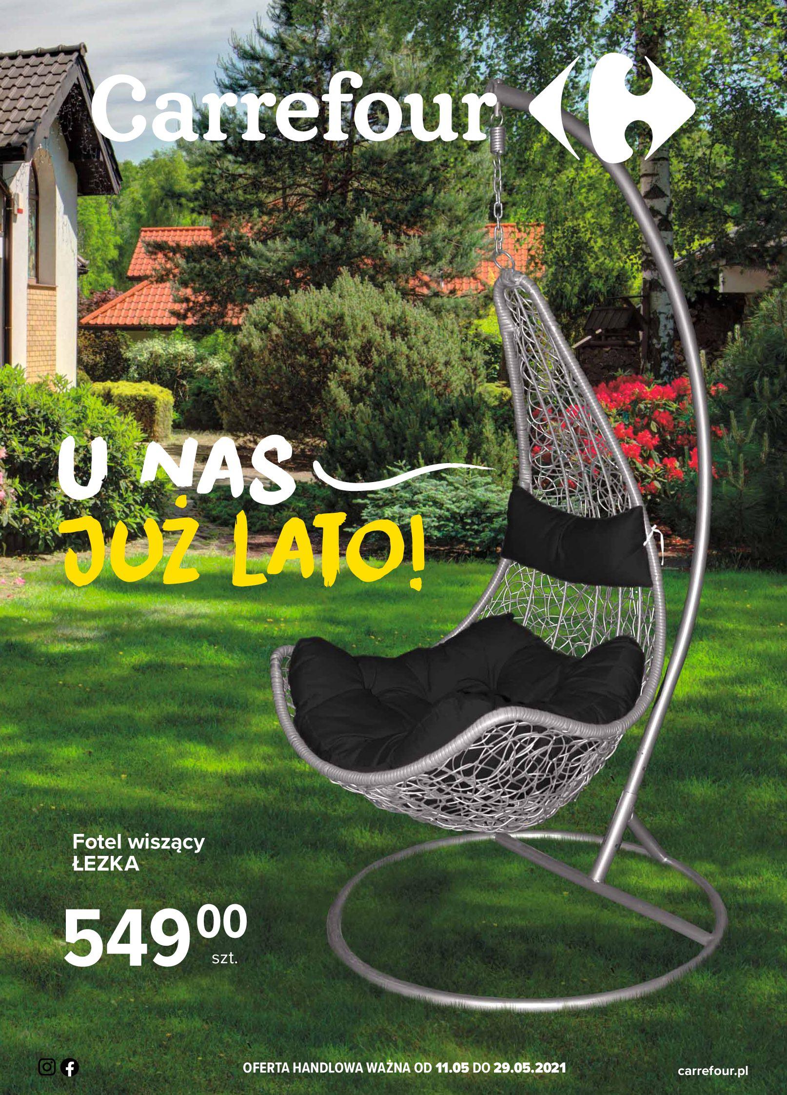 Carrefour:  Gazetka Carrefour - U nas już lato! 10.05.2021