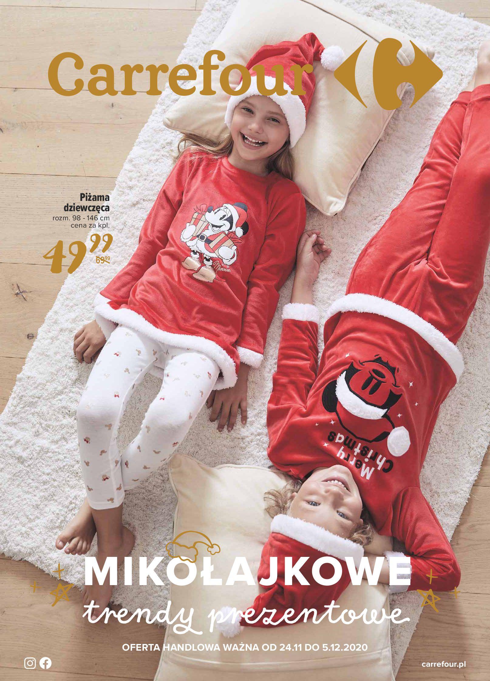 Carrefour:  Oferta Mikołajkowa 23.11.2020