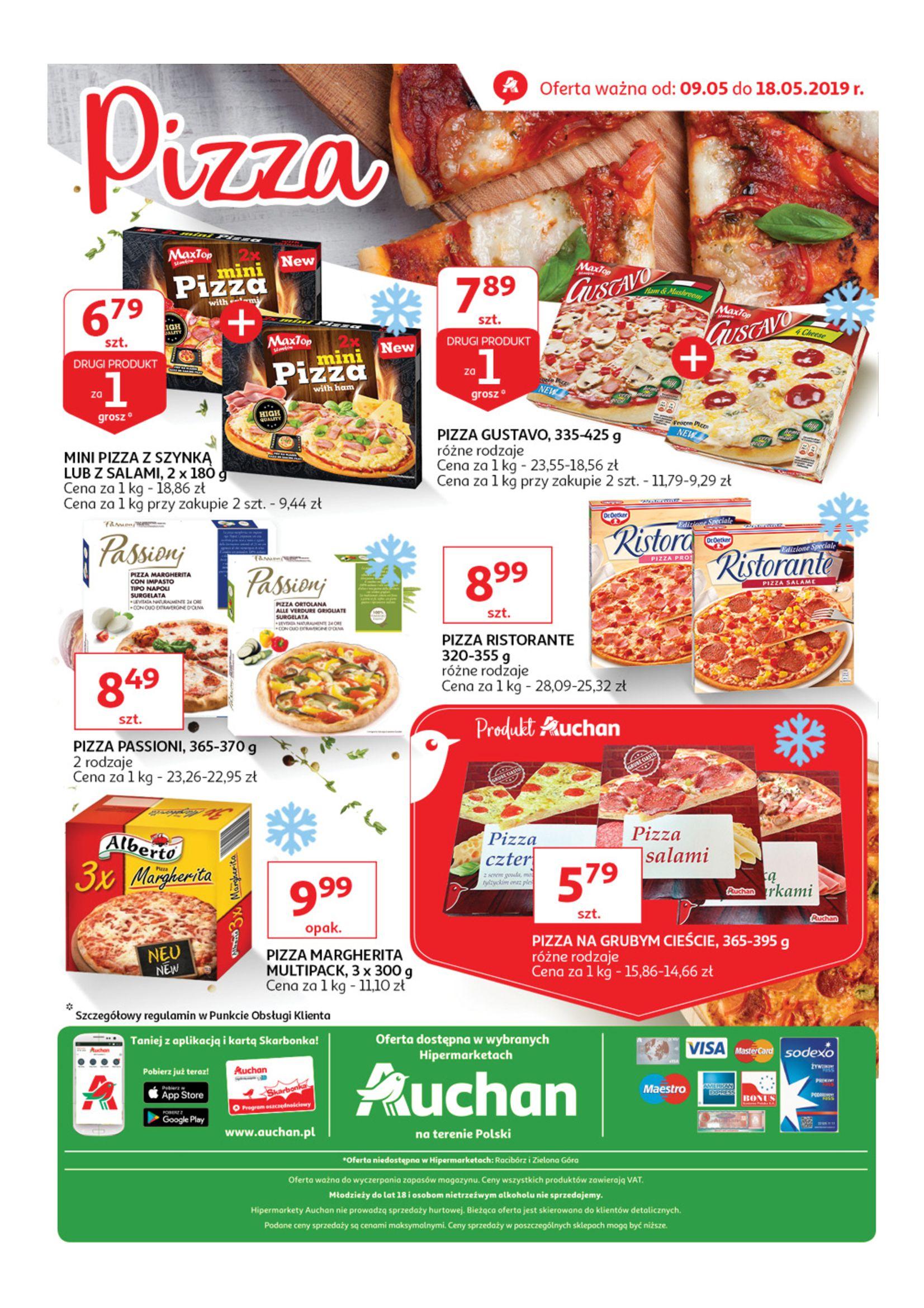 Gazetka Auchan - Pizza Hipermarkety-08.05.2019-18.05.2019-page-
