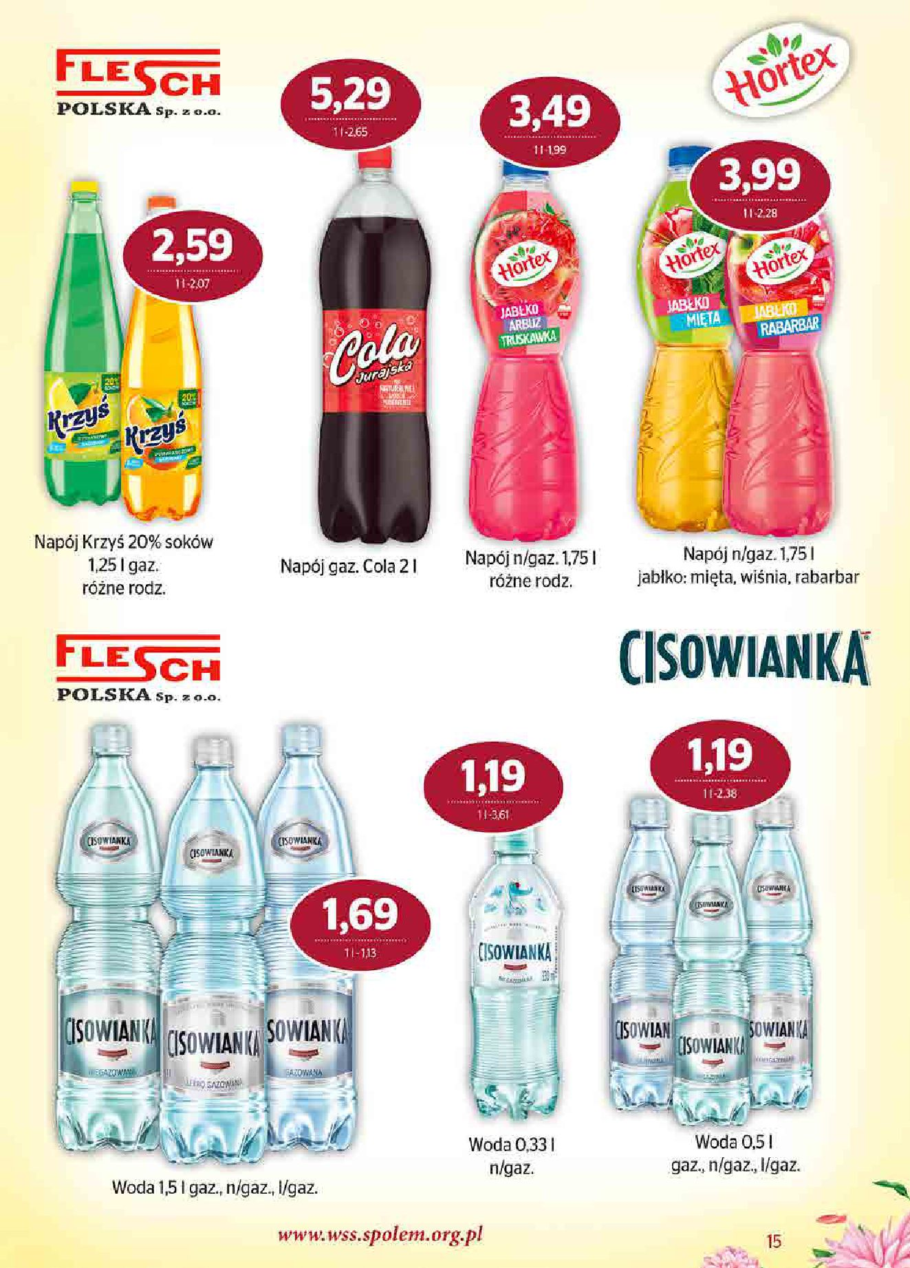 Gazetka Społem Sp z o.o.: Gazetka Społem Sp z o.o. 2021-07-01 page-15