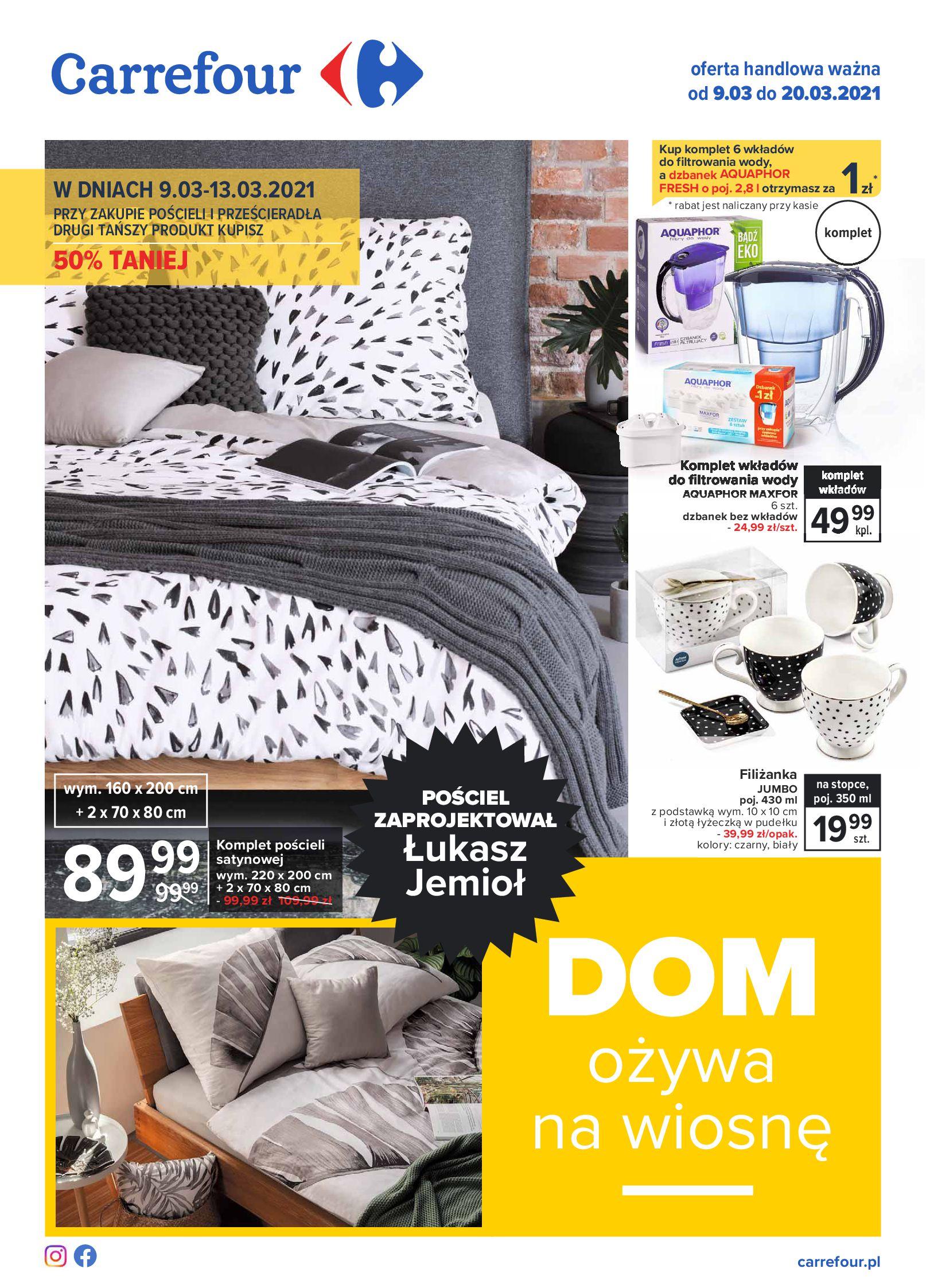 Carrefour:  Katalog - Dom ożywa na wiosnę 08.03.2021