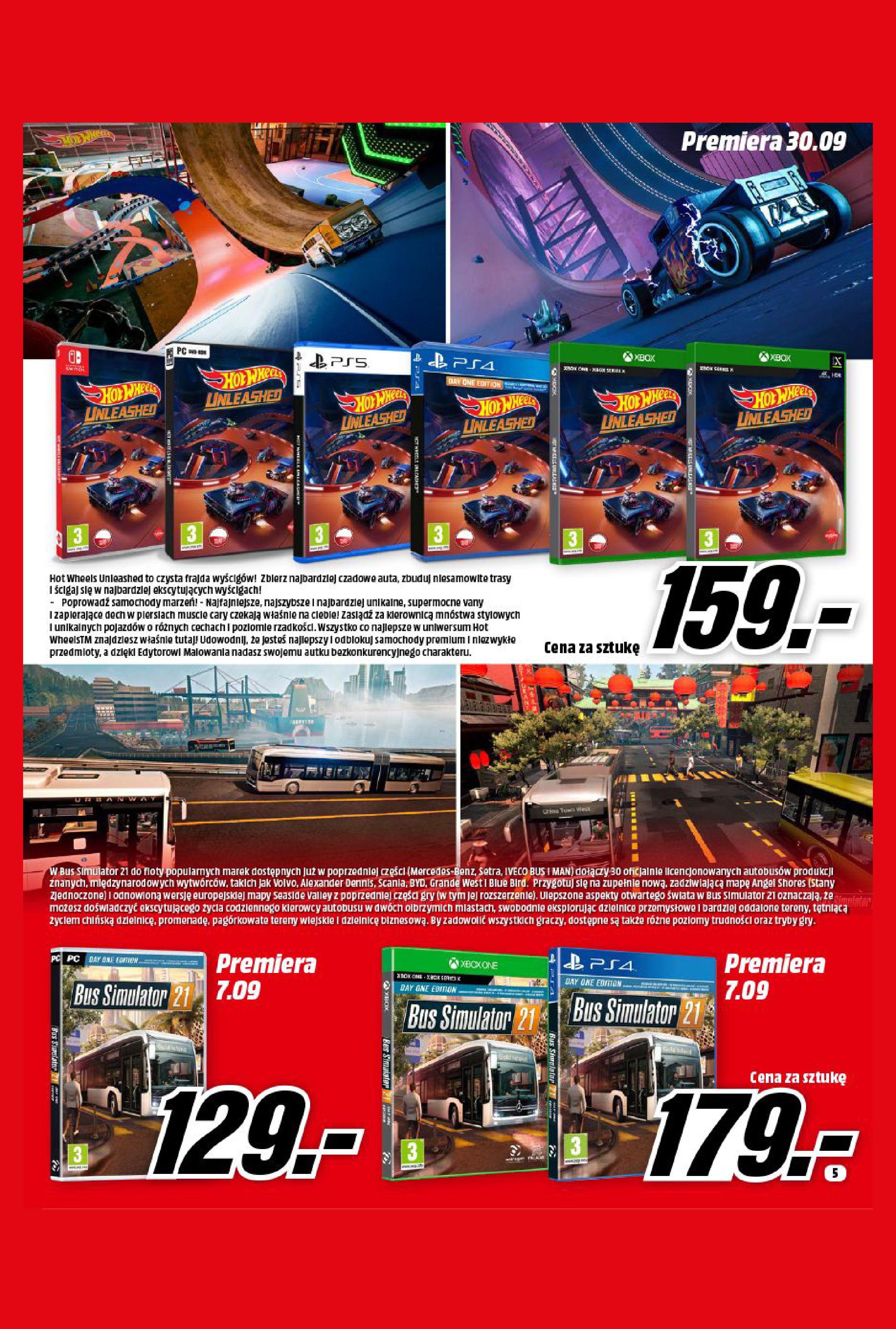 Gazetka Media Markt: Gazetka Media Markt - Wrzesień 2021 2021-09-09 page-5