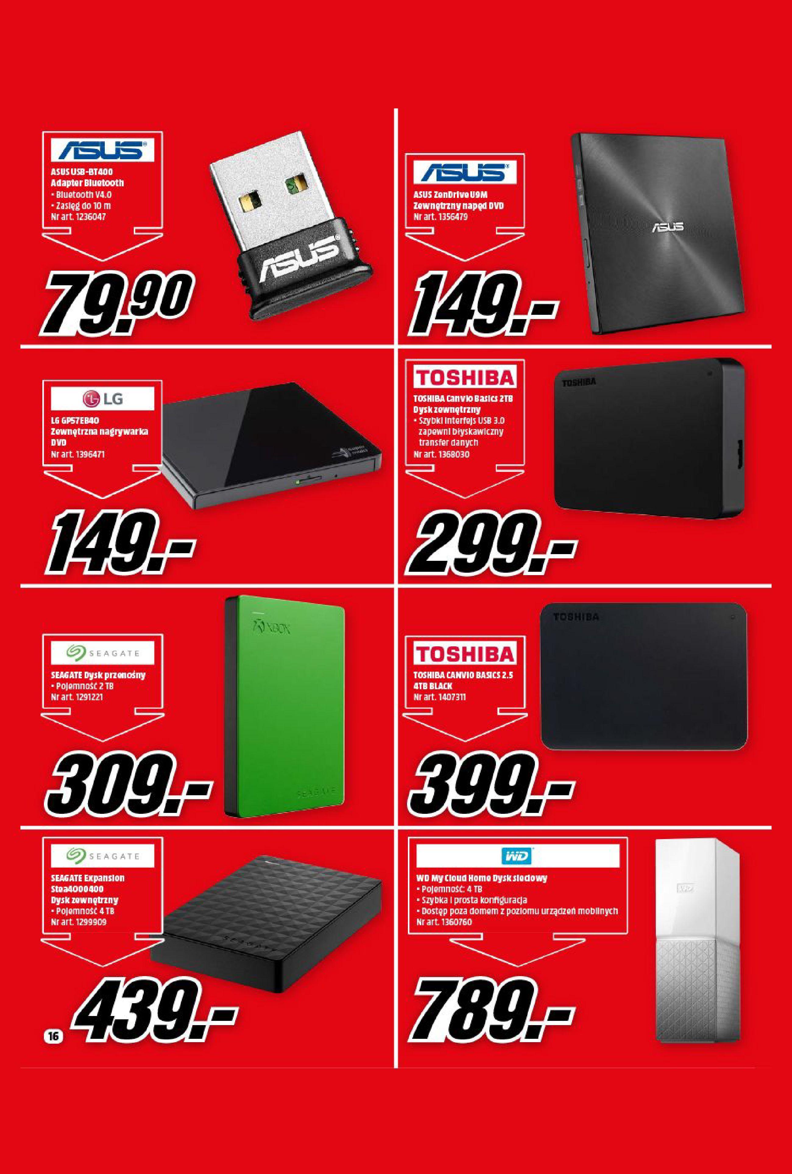Gazetka Media Markt: Gazetka Media Markt - Wrzesień 2021 2021-09-09 page-16