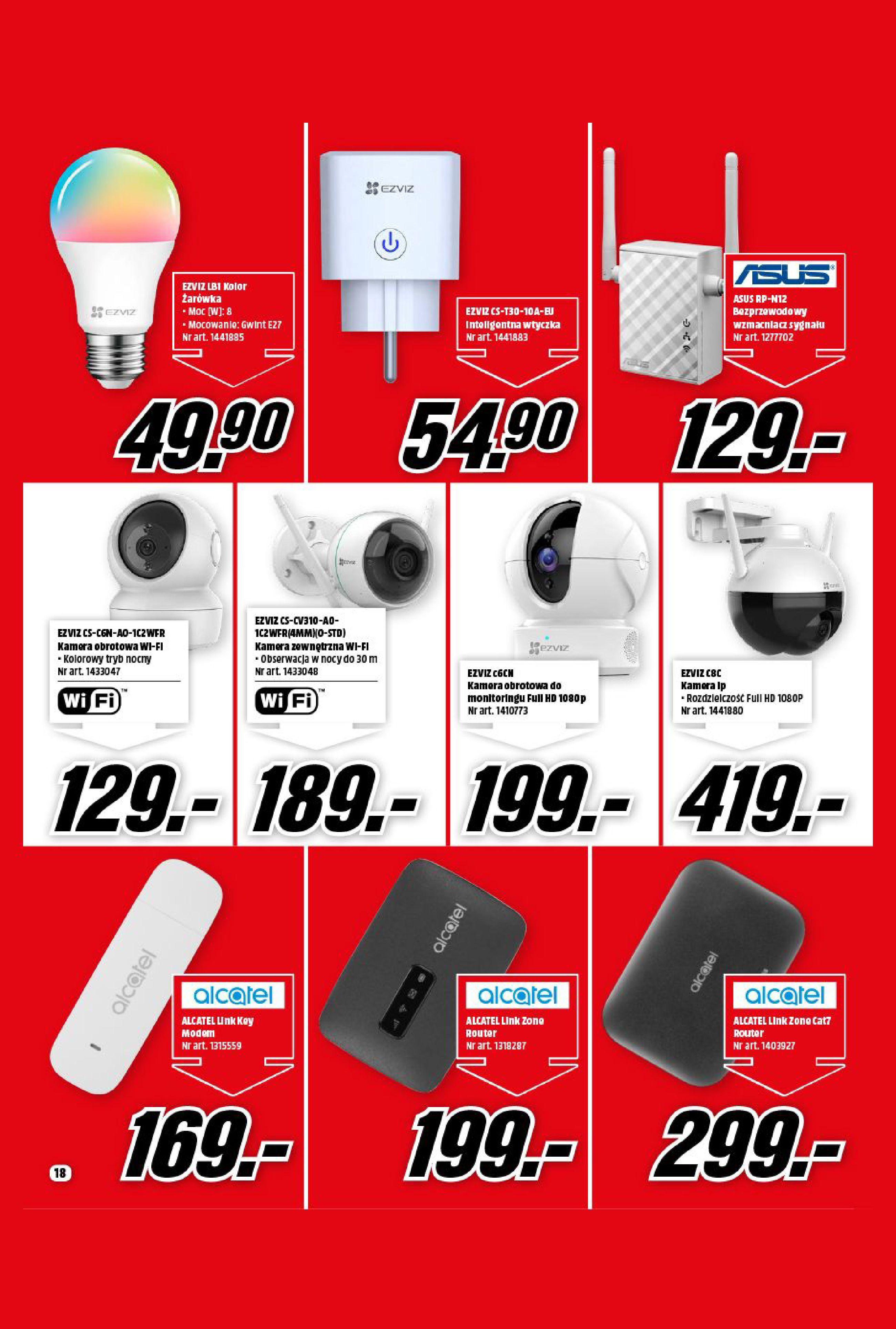 Gazetka Media Markt: Gazetka Media Markt - Wrzesień 2021 2021-09-09 page-18