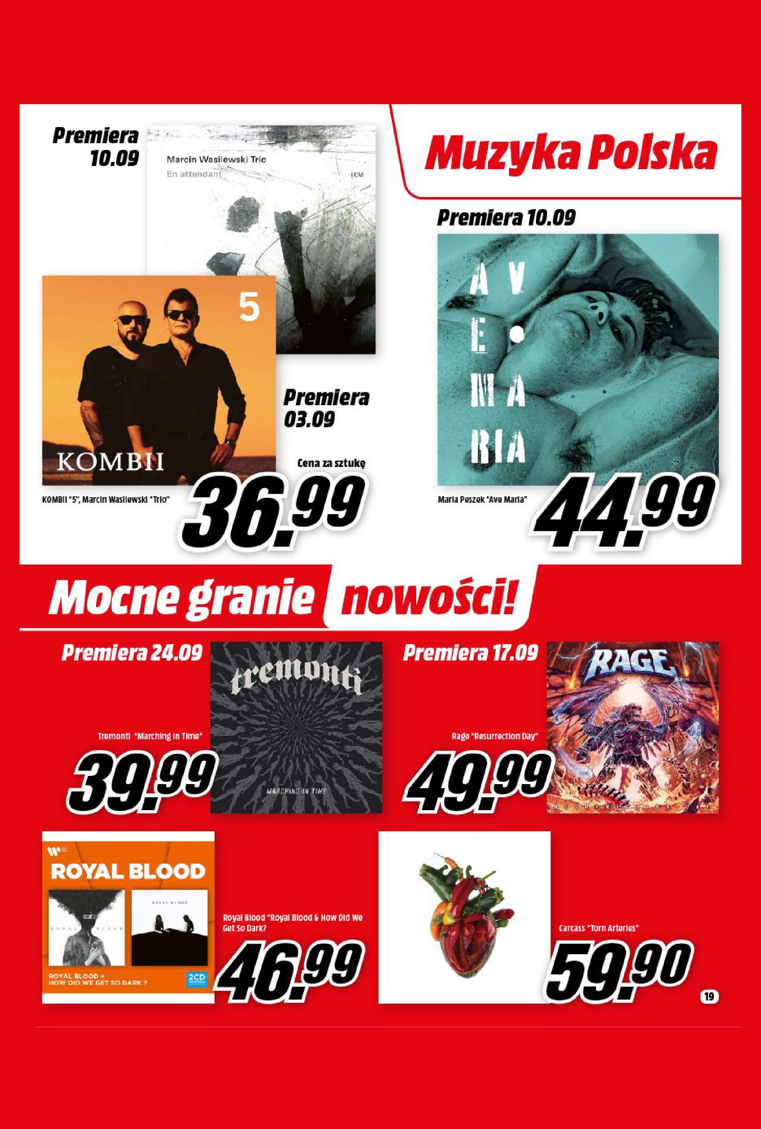 Gazetka Media Markt: Gazetka Media Markt - Wrzesień 2021 2021-09-09 page-19