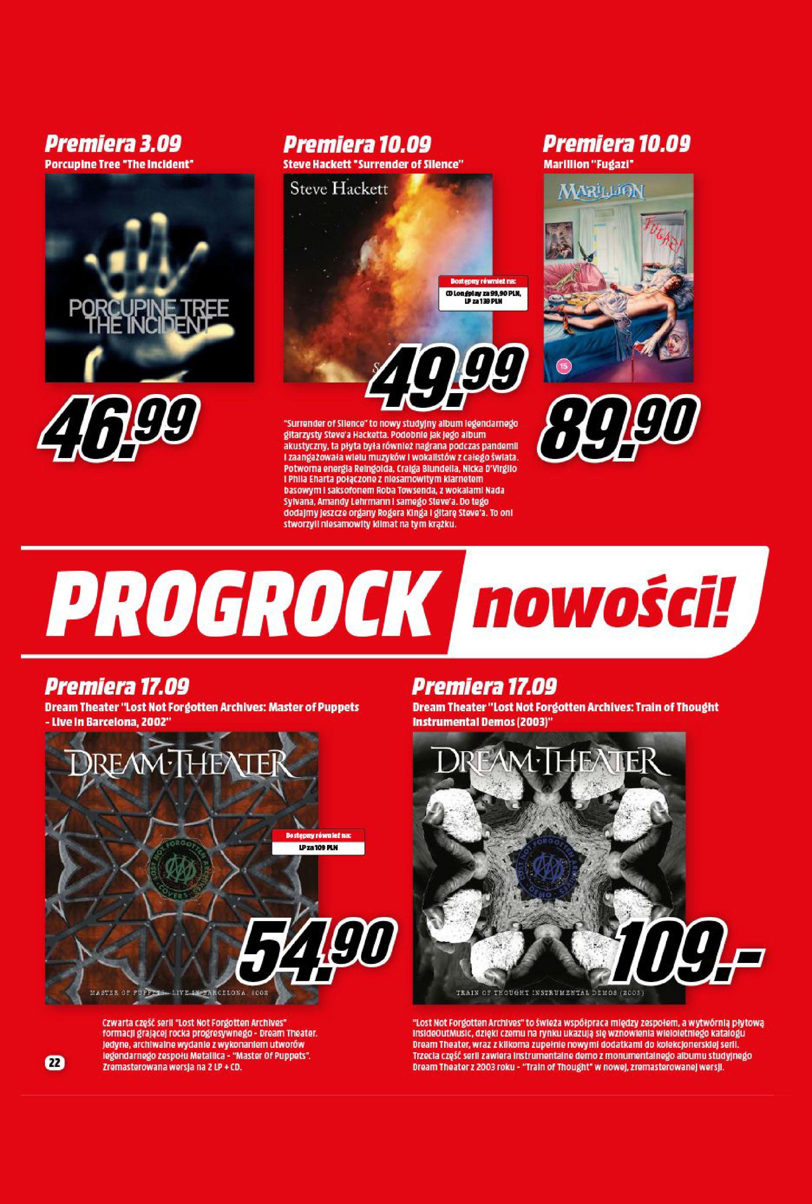 Gazetka Media Markt: Gazetka Media Markt - Wrzesień 2021 2021-09-09 page-22
