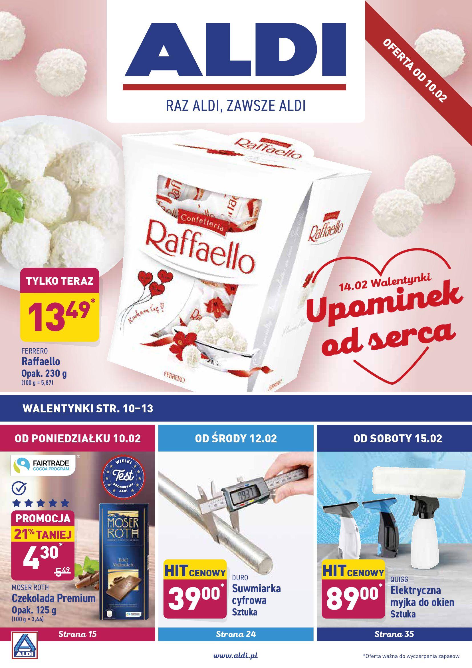 Gazetka Aldi - Oferta promocyjna-09.02.2020-15.02.2020-page-1