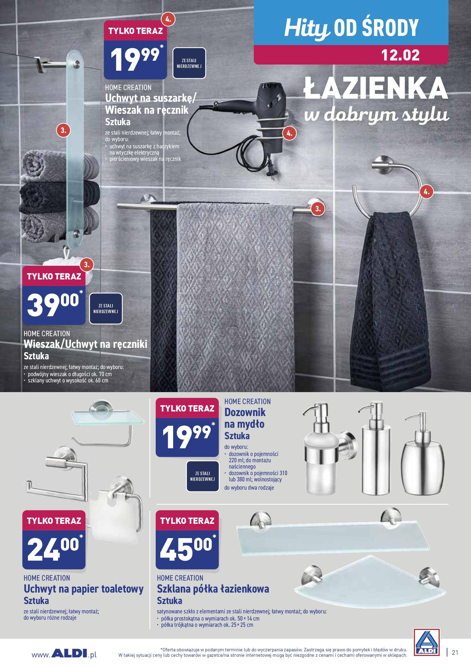 Gazetka Aldi - Oferta promocyjna-09.02.2020-15.02.2020-page-21