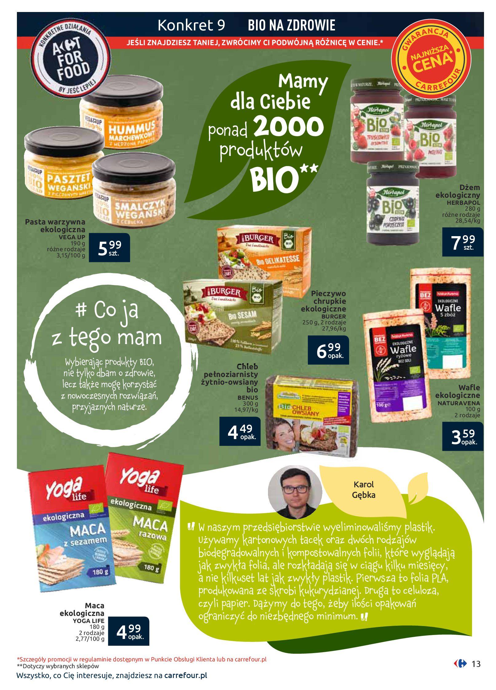 Gazetka Carrefour - Jesteś tym, co jesz-09.09.2019-29.09.2019-page-13