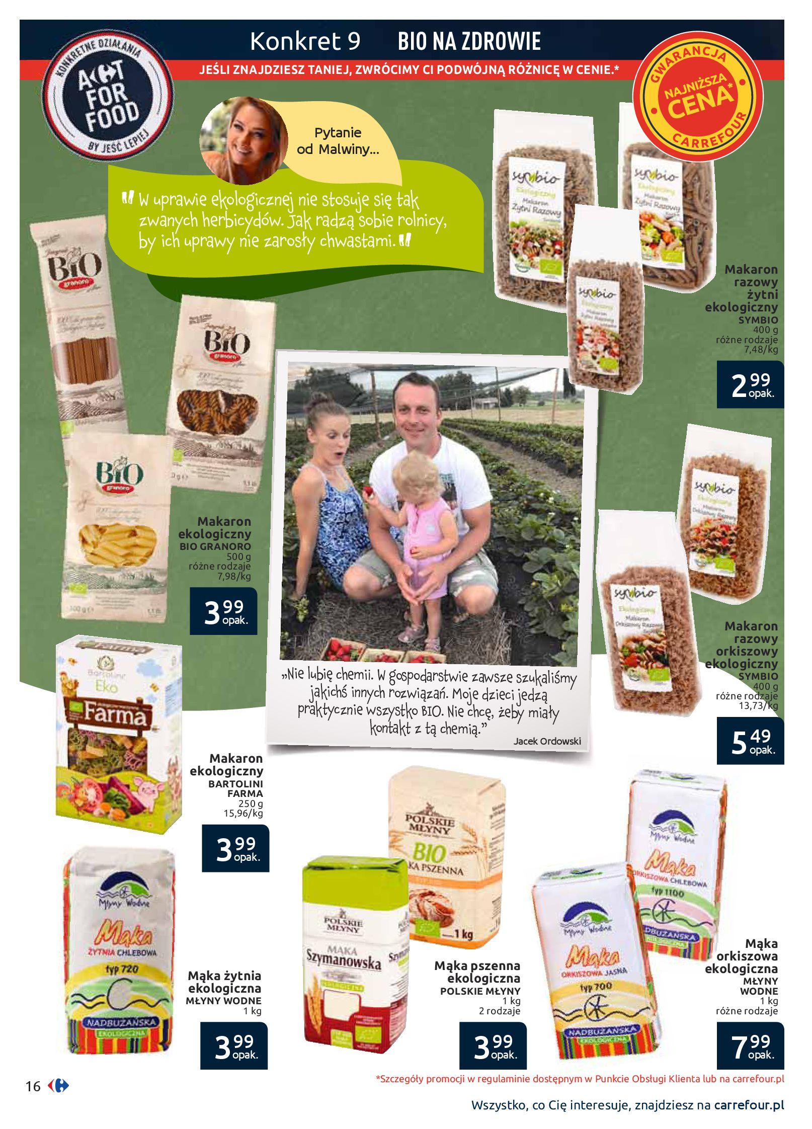 Gazetka Carrefour - Jesteś tym, co jesz-09.09.2019-29.09.2019-page-16