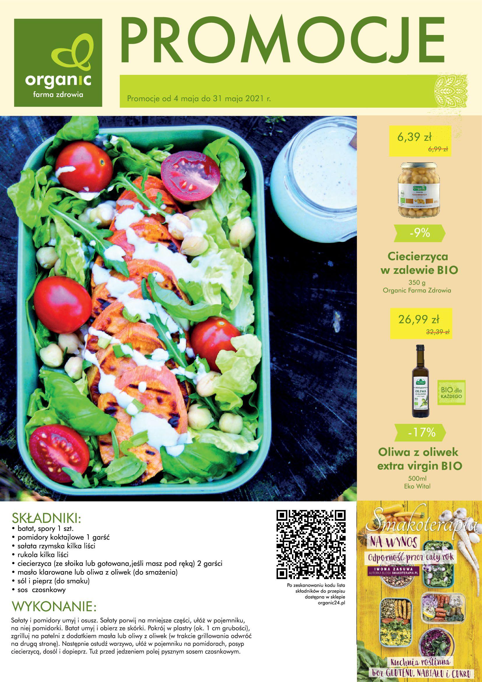 Organic Farma Zdrowia:  Gazetka Organic Farma Zdrowia 03.05.2021
