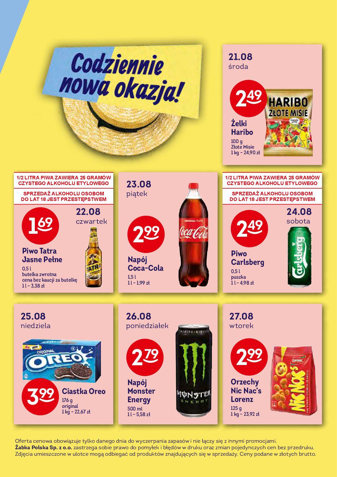 Gazetka Żabka - Oferta promocyjna-13.08.2019-27.08.2019-page-5