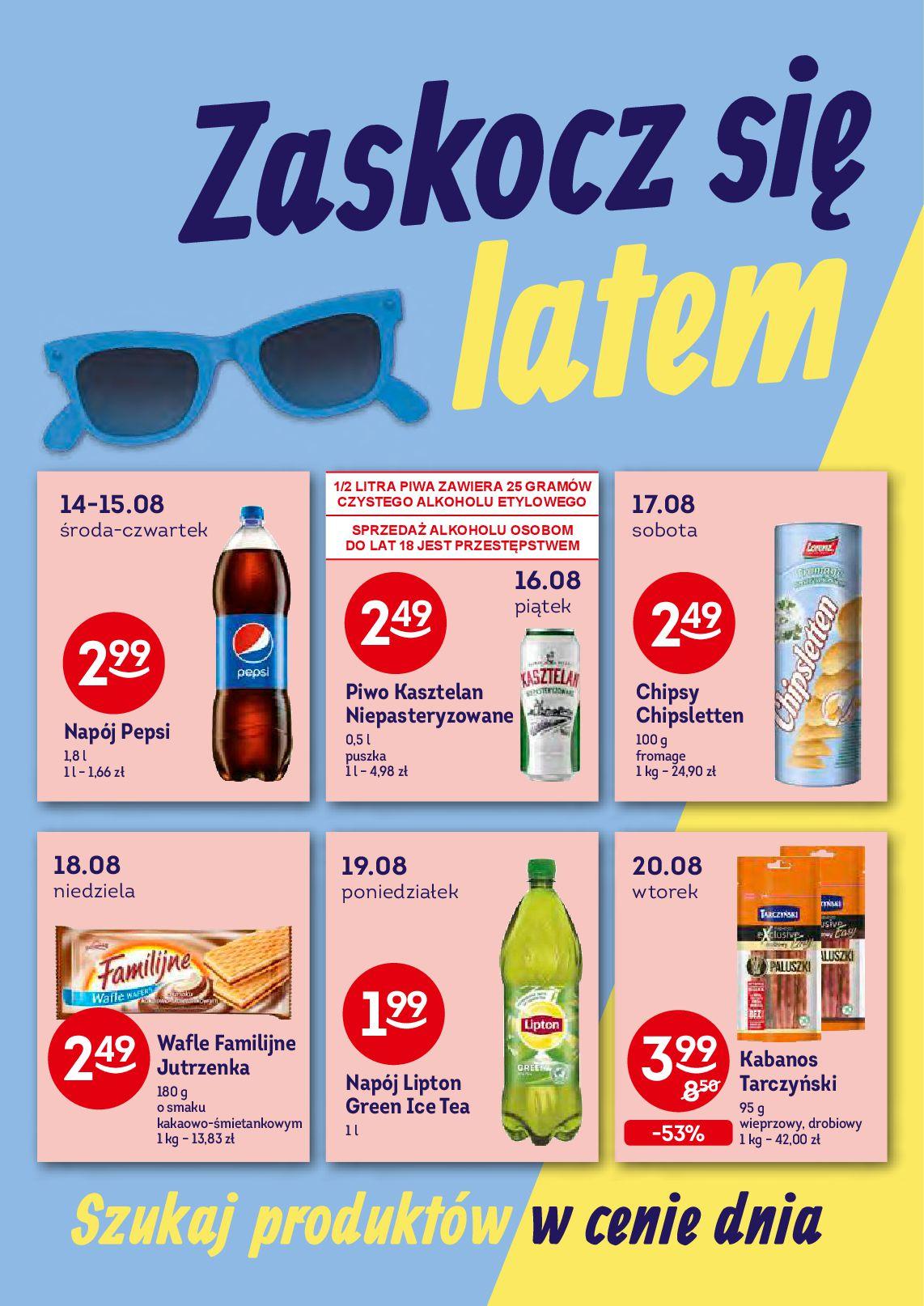 Gazetka Żabka - Oferta promocyjna-13.08.2019-27.08.2019-page-4