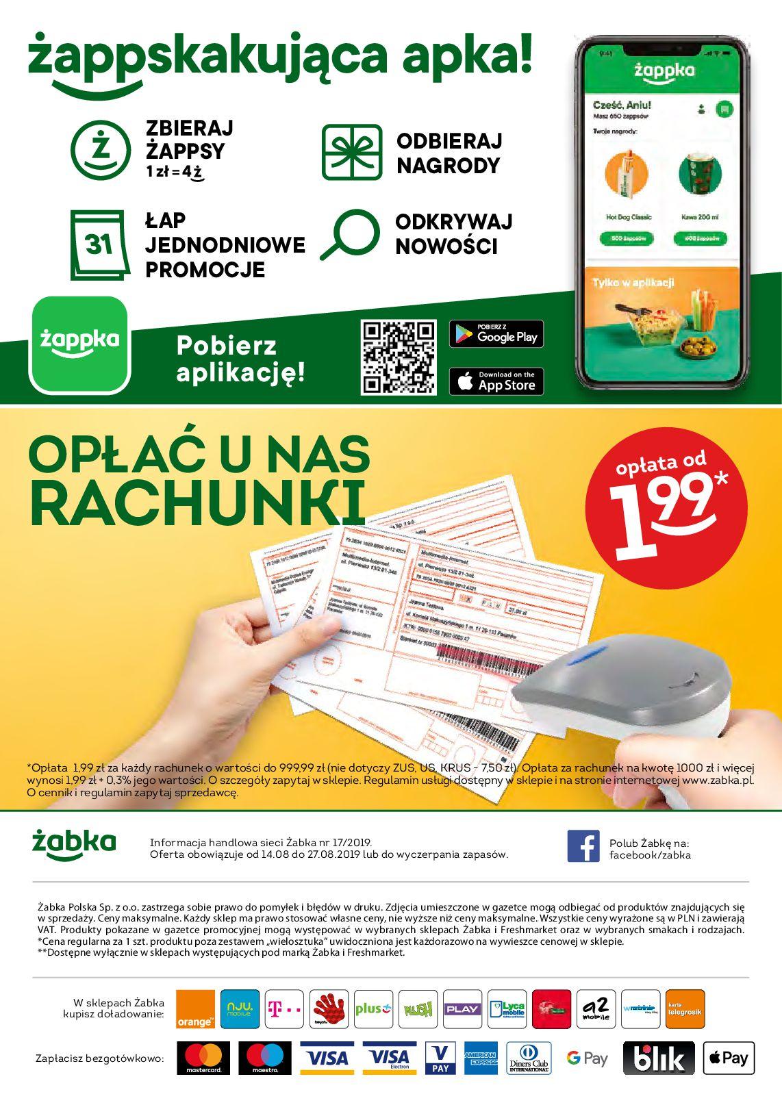 Gazetka Żabka - Oferta promocyjna-13.08.2019-27.08.2019-page-32