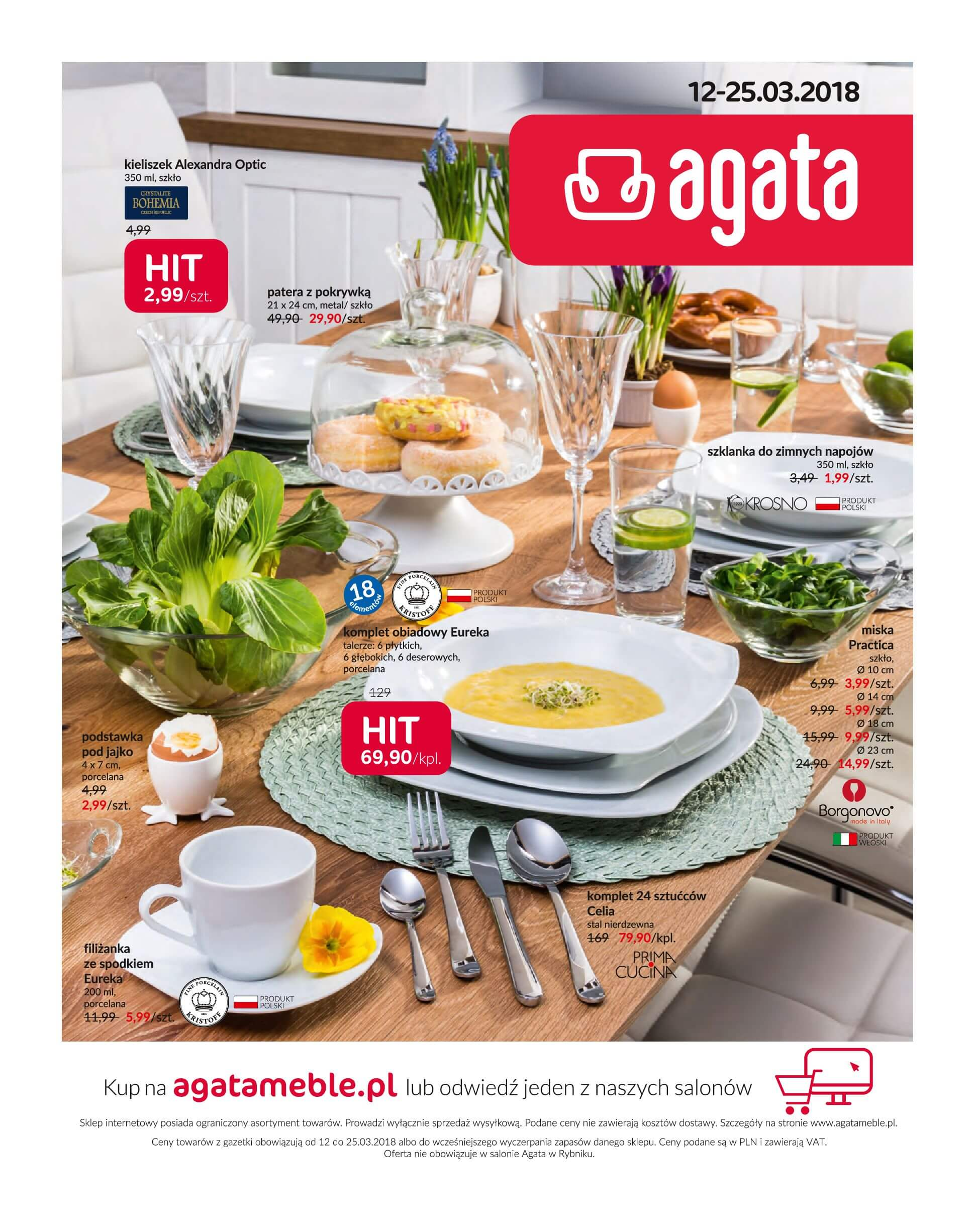 Gazetka Agata Meble - Oferta na artykuły wyposażenia wnętrz-11.03.2018-25.03.2018-page-