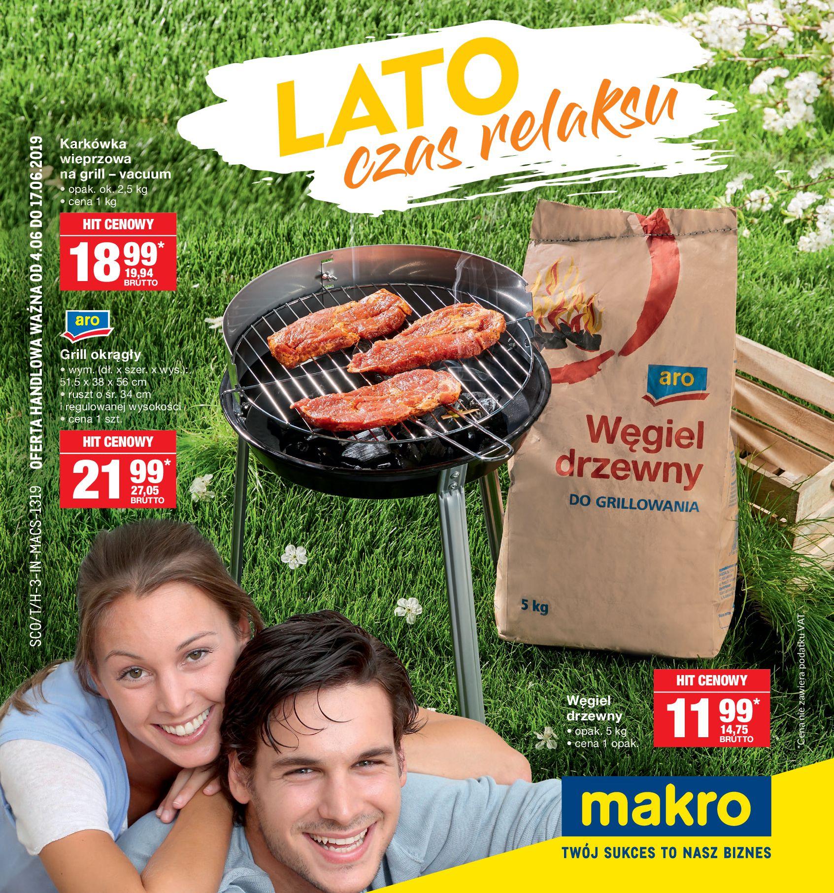 Gazetka Makro - Oferta na grilla-03.06.2019-17.06.2019-page-