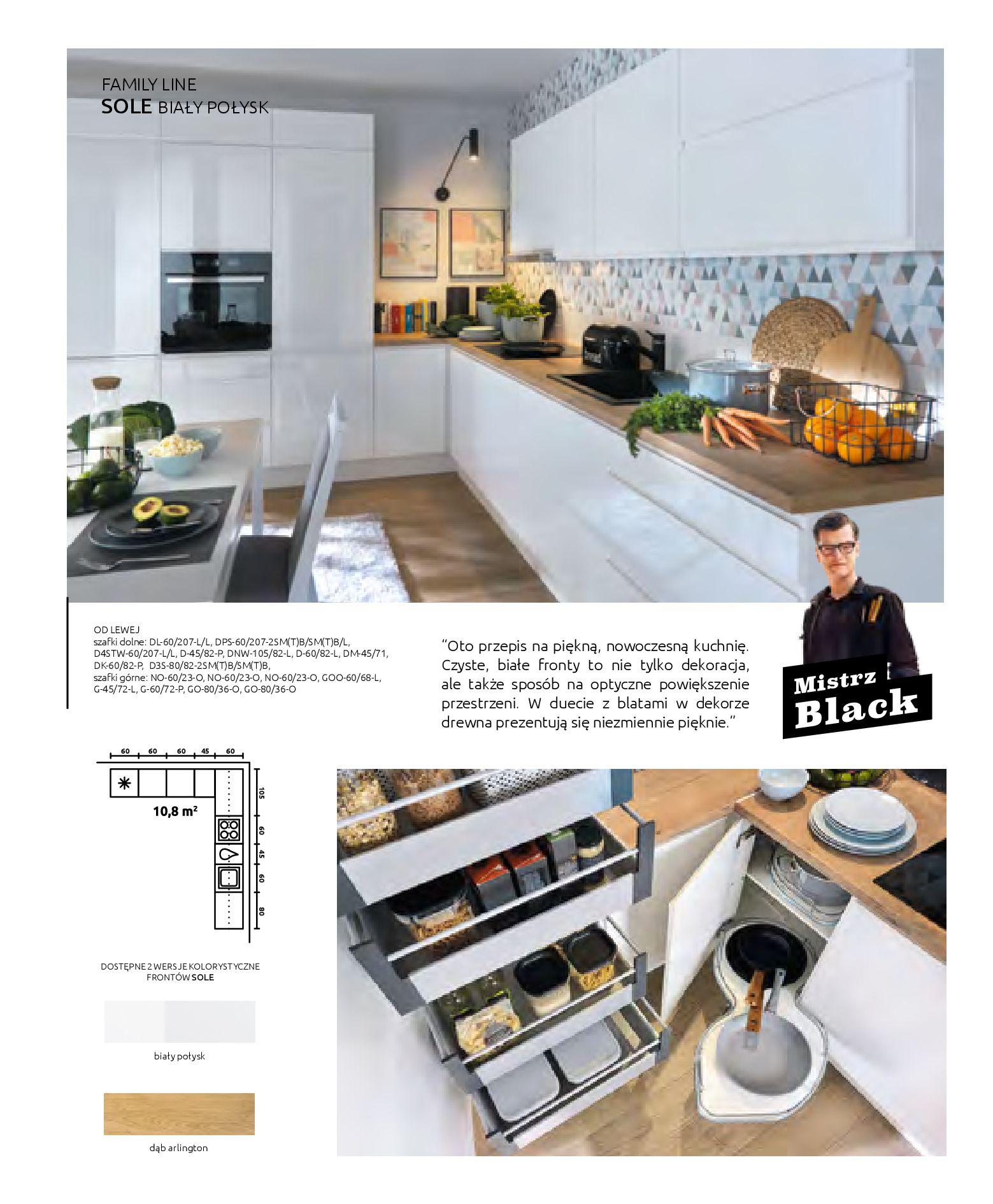 Gazetka Black Red White: Katalog - Kuchnie modułowe 2019-04-01 page-6