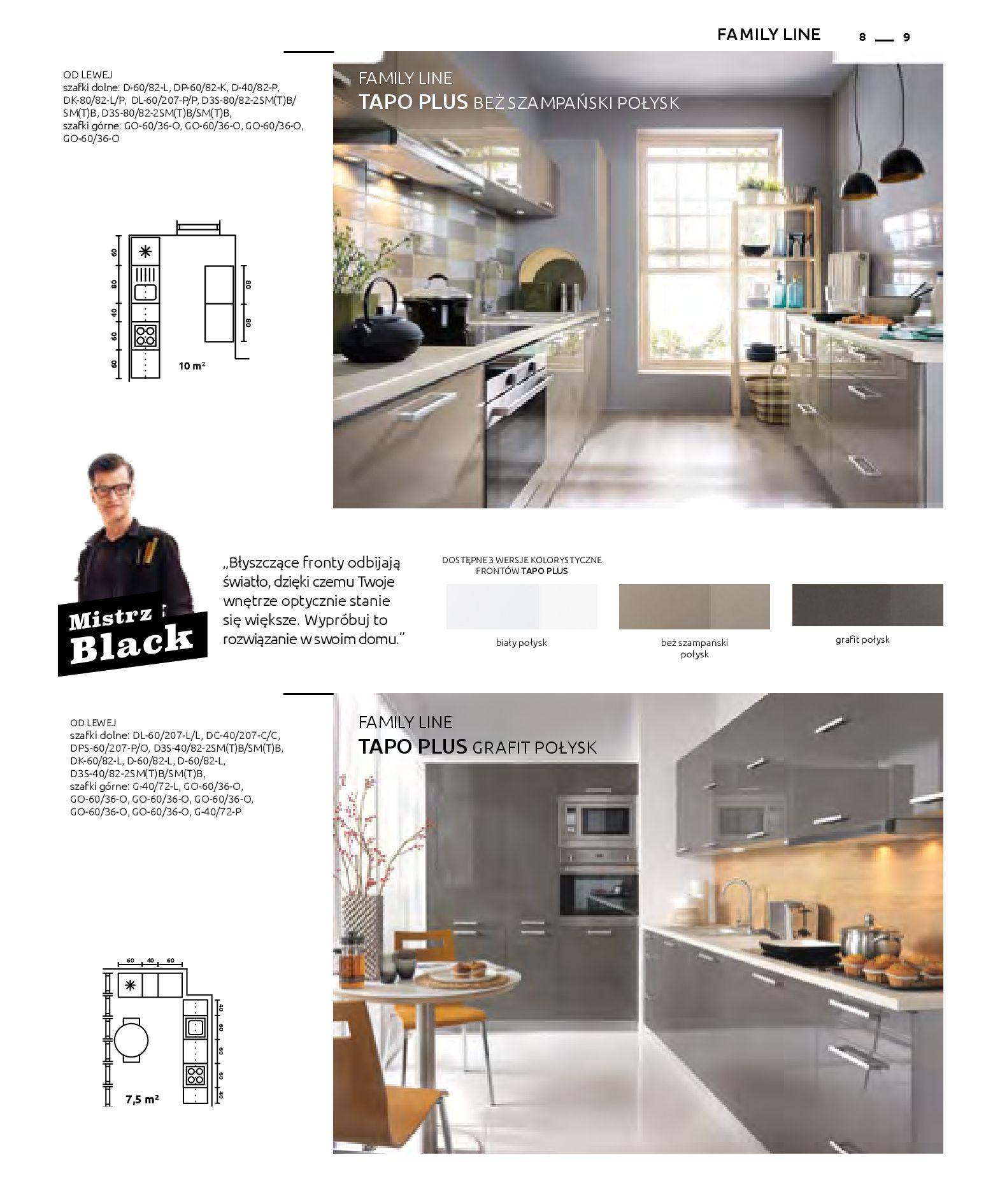 Gazetka Black Red White: Katalog - Kuchnie modułowe 2019-04-01 page-9