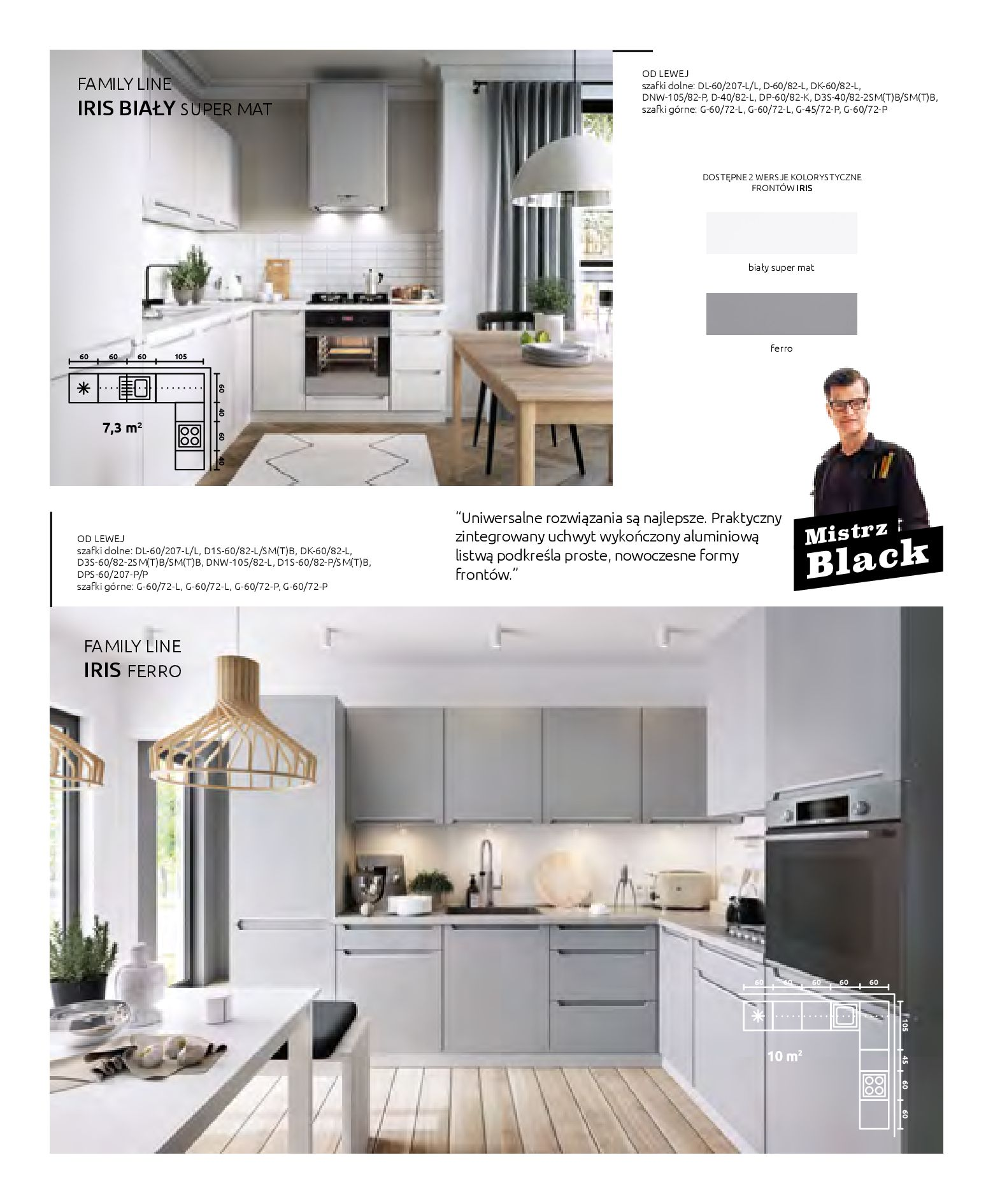 Gazetka Black Red White: Katalog - Kuchnie modułowe 2019-04-01 page-10