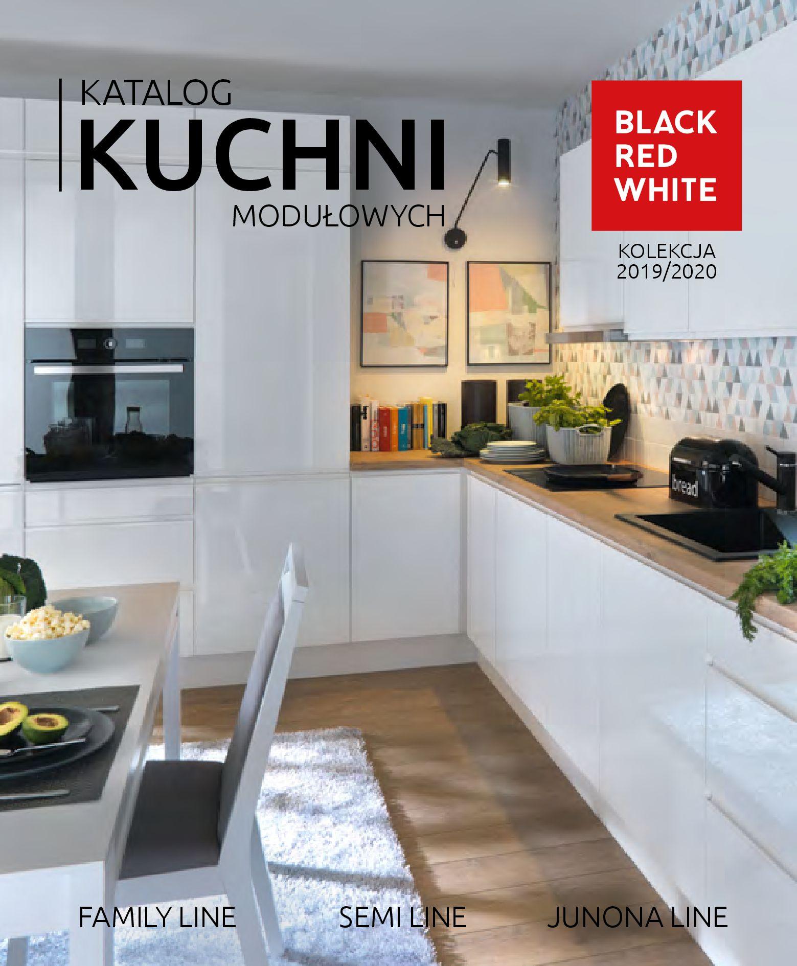 Gazetka Black Red White: Katalog - Kuchnie modułowe 2019-04-01 page-1
