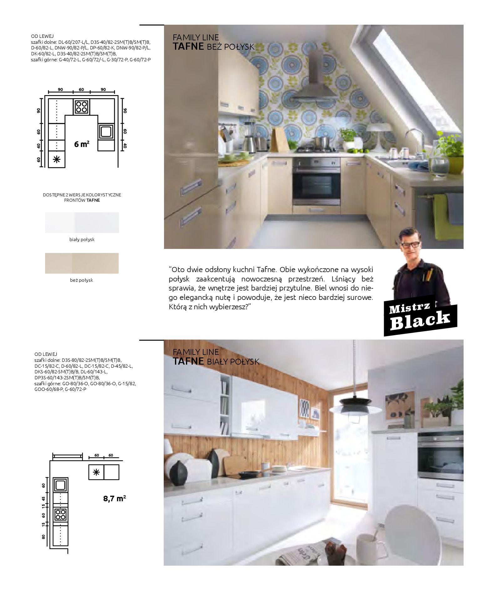 Gazetka Black Red White: Katalog - Kuchnie modułowe 2019-04-01 page-12