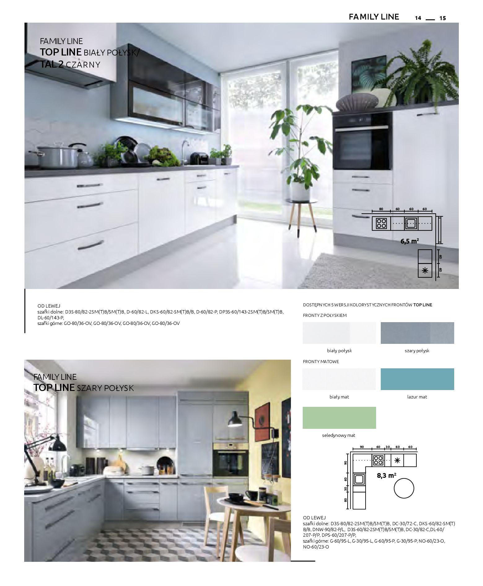 Gazetka Black Red White: Katalog - Kuchnie modułowe 2019-04-01 page-15