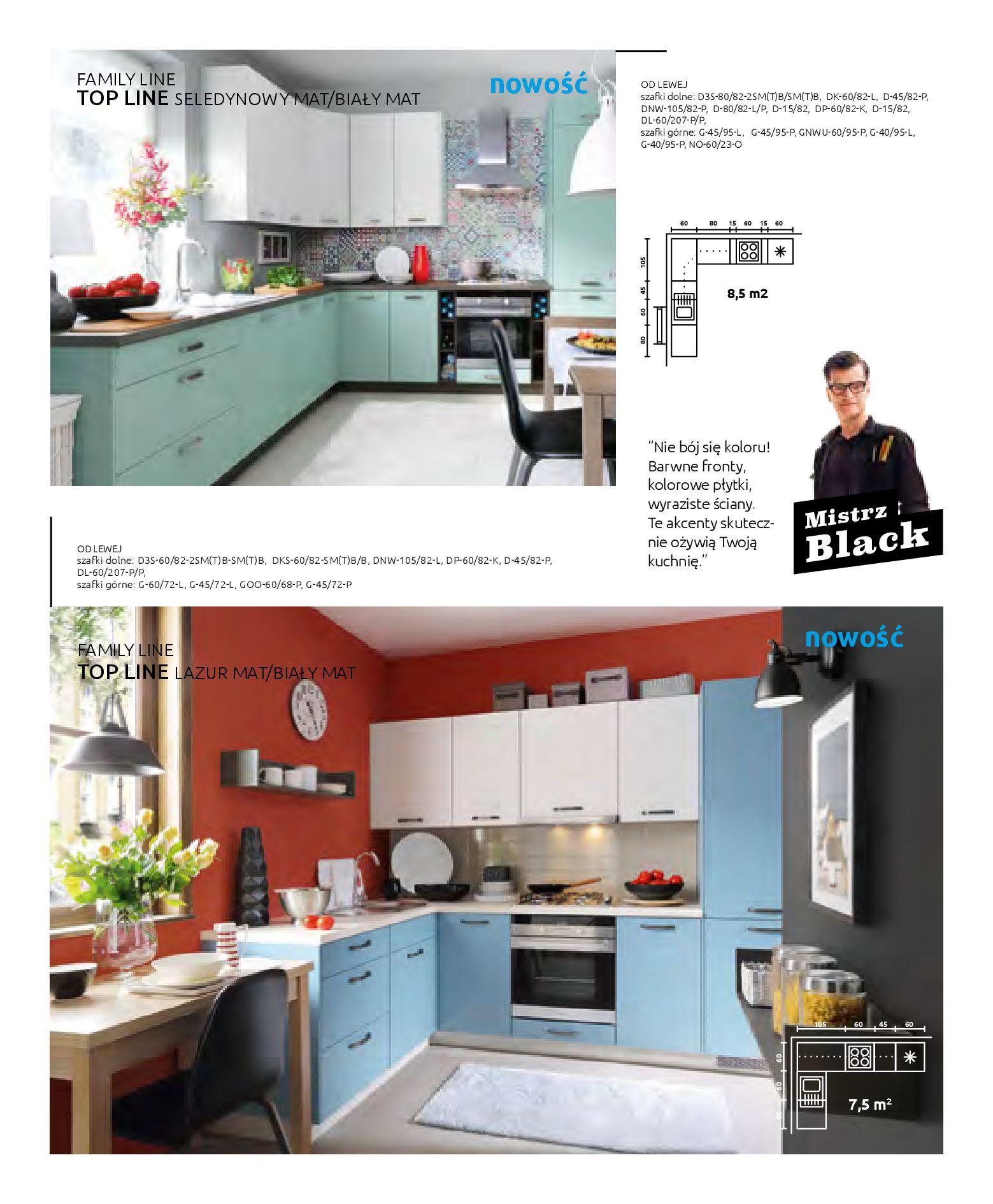 Gazetka Black Red White: Katalog - Kuchnie modułowe 2019-04-01 page-16