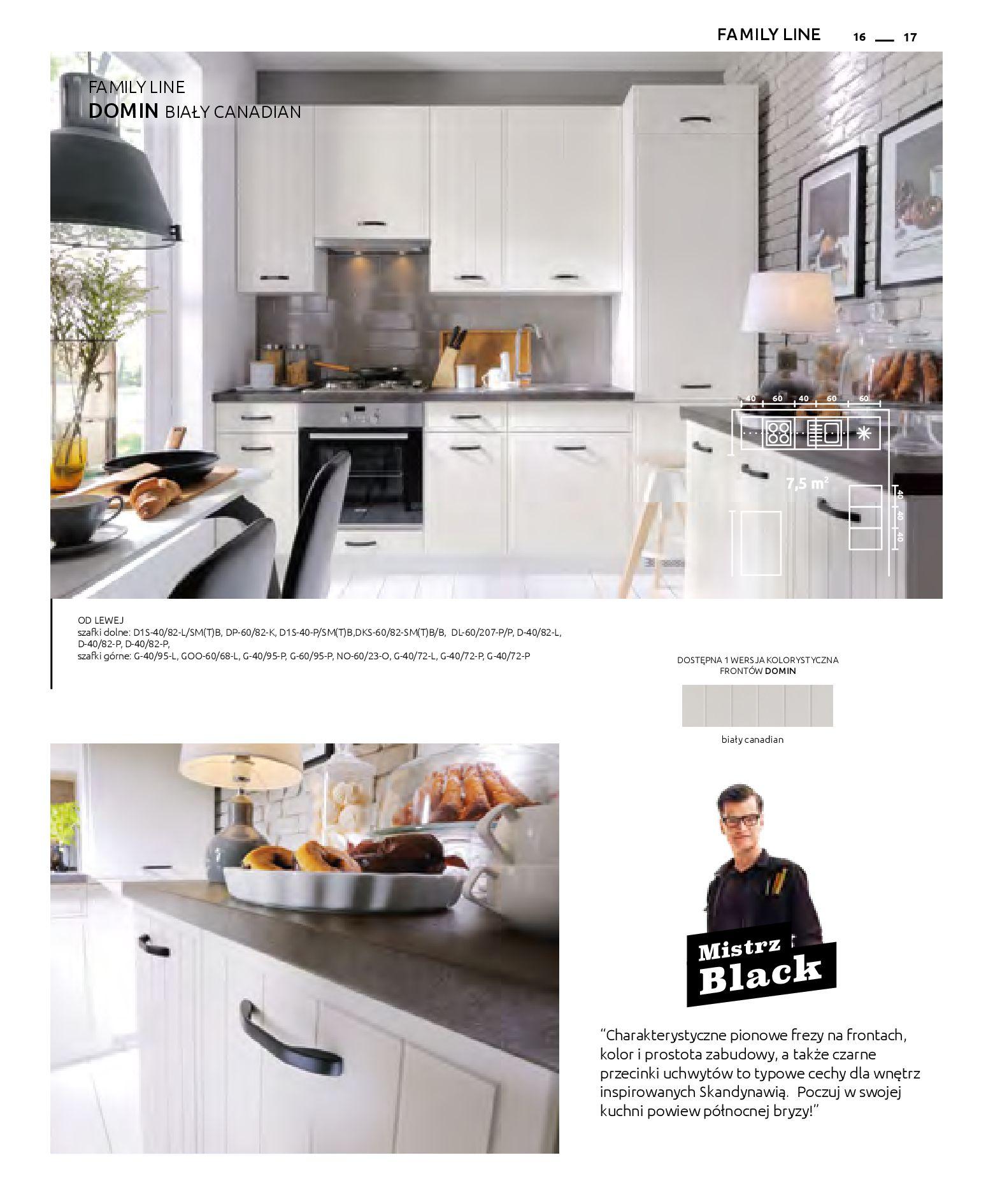 Gazetka Black Red White: Katalog - Kuchnie modułowe 2019-04-01 page-17