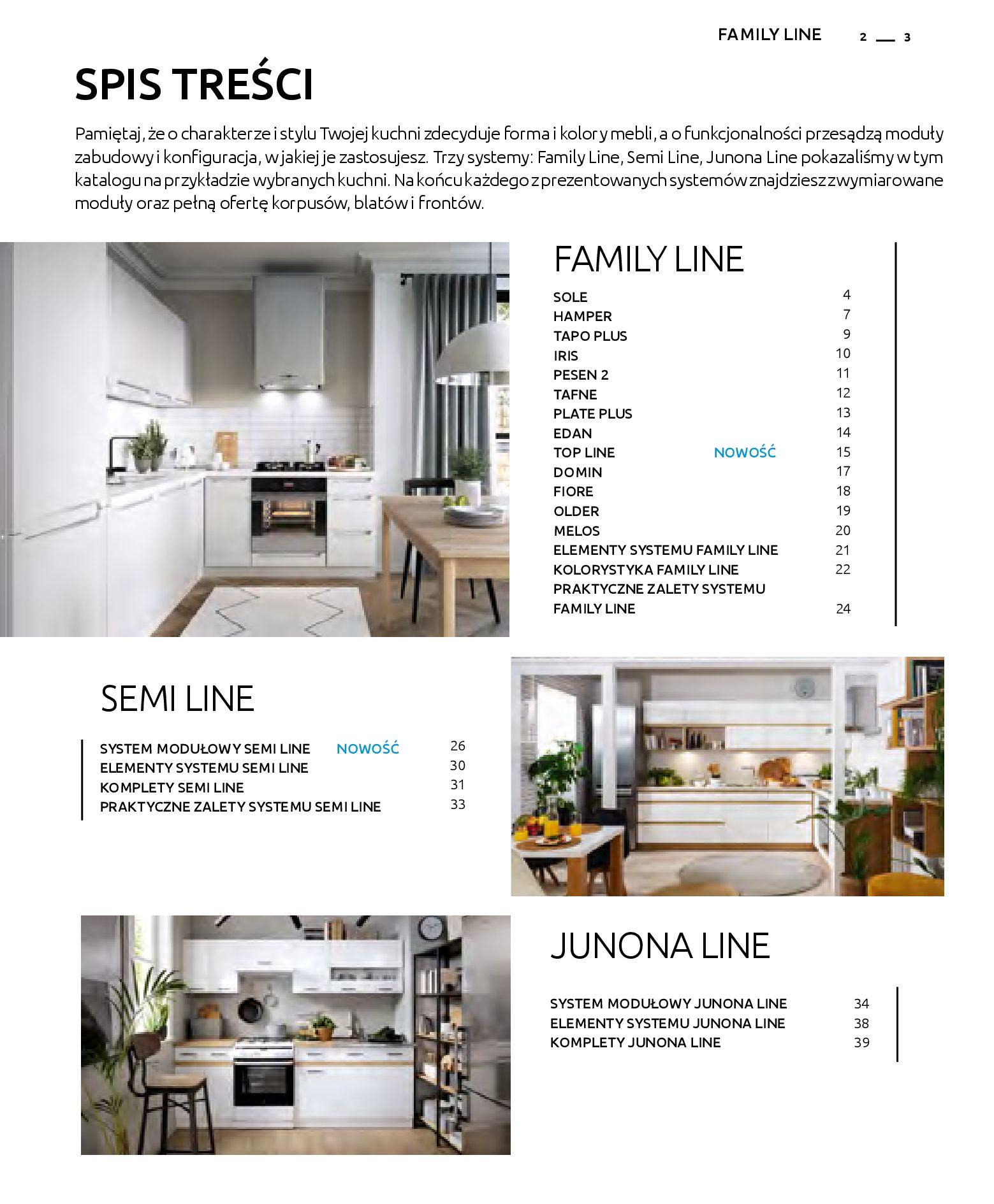 Gazetka Black Red White: Katalog - Kuchnie modułowe 2019-04-01 page-3