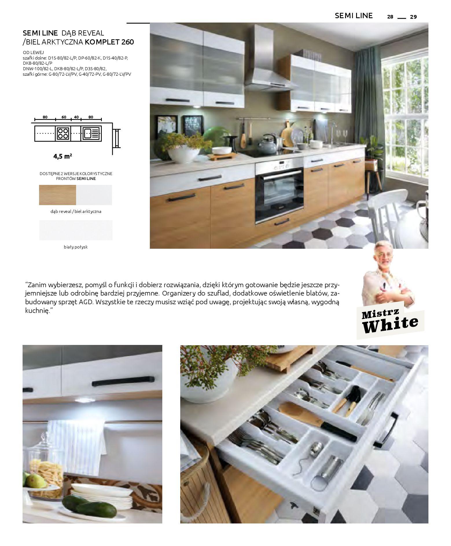 Gazetka Black Red White: Katalog - Kuchnie modułowe 2019-04-01 page-29