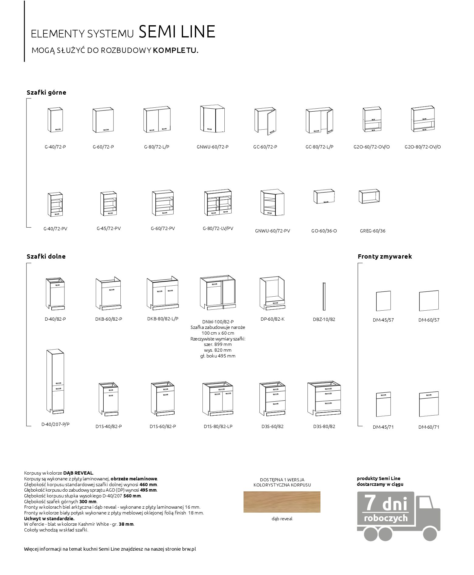 Gazetka Black Red White: Katalog - Kuchnie modułowe 2019-04-01 page-30