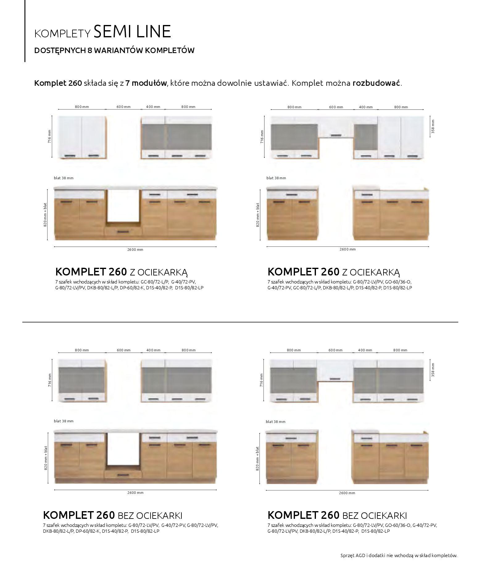 Gazetka Black Red White: Katalog - Kuchnie modułowe 2019-04-01 page-32